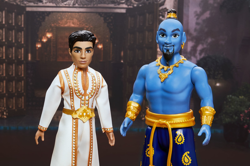Will Smith And Cast Of Aladdin See Their Hasbro Dolls For