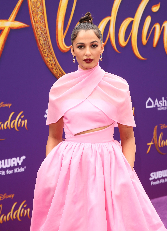 Wardrobe Breakdown: Naomi Scott At Aladdin World Premiere