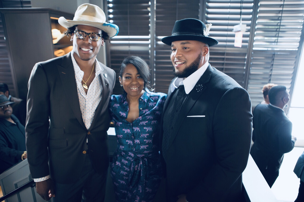 NFL Quarterback Cam Newton & Brother CJ Open 'Fellaship' Cigar Lounge & Restaurant