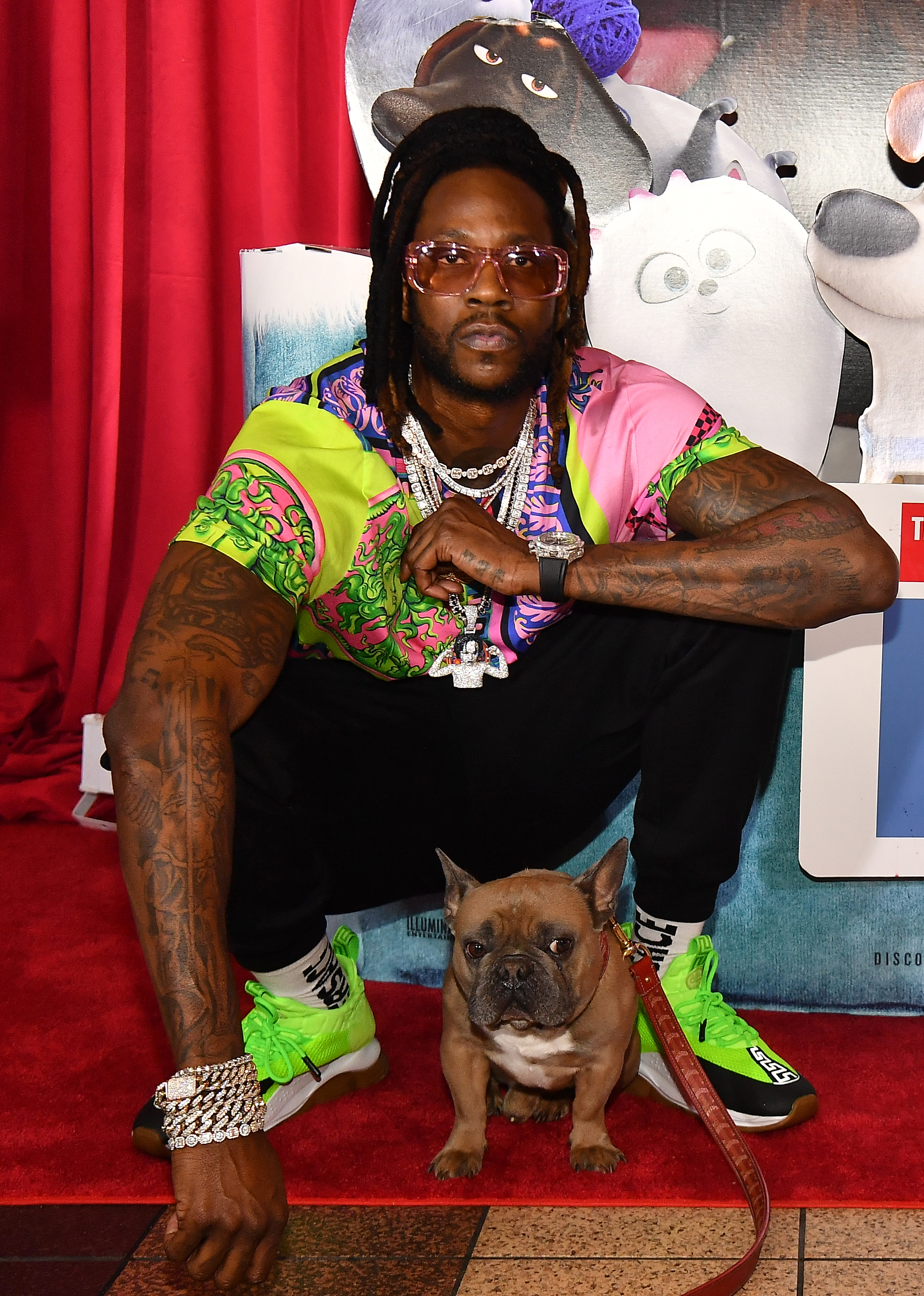 2 Chainz Host The Secret Life Of Pets 2 Screening In ATL With Dog Trappy