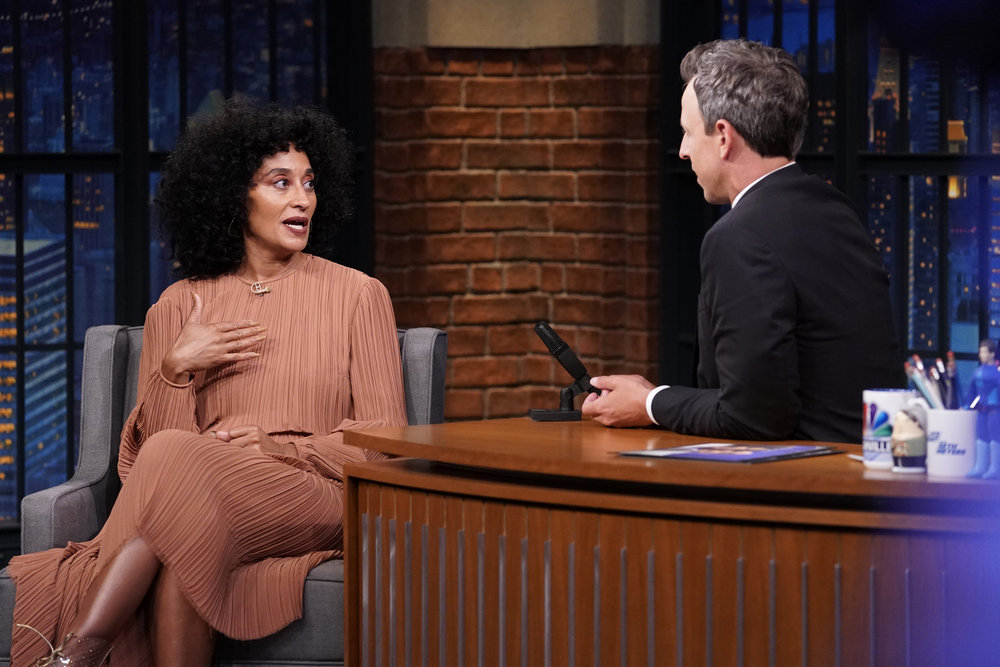 In Case You Missed It: Tracee Ellis Ross On Late Night With Seth Meyers