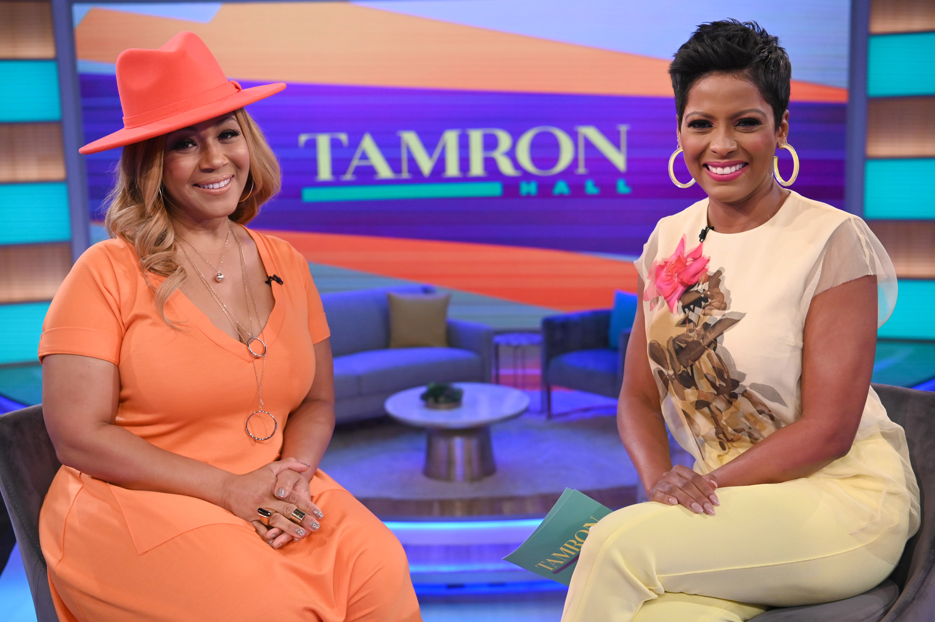 In Case You Missed It: Erica Campbell(Mary Mary) Discusses Her Daughter's Body Image And Husband's Infidelity On Tamron Hall