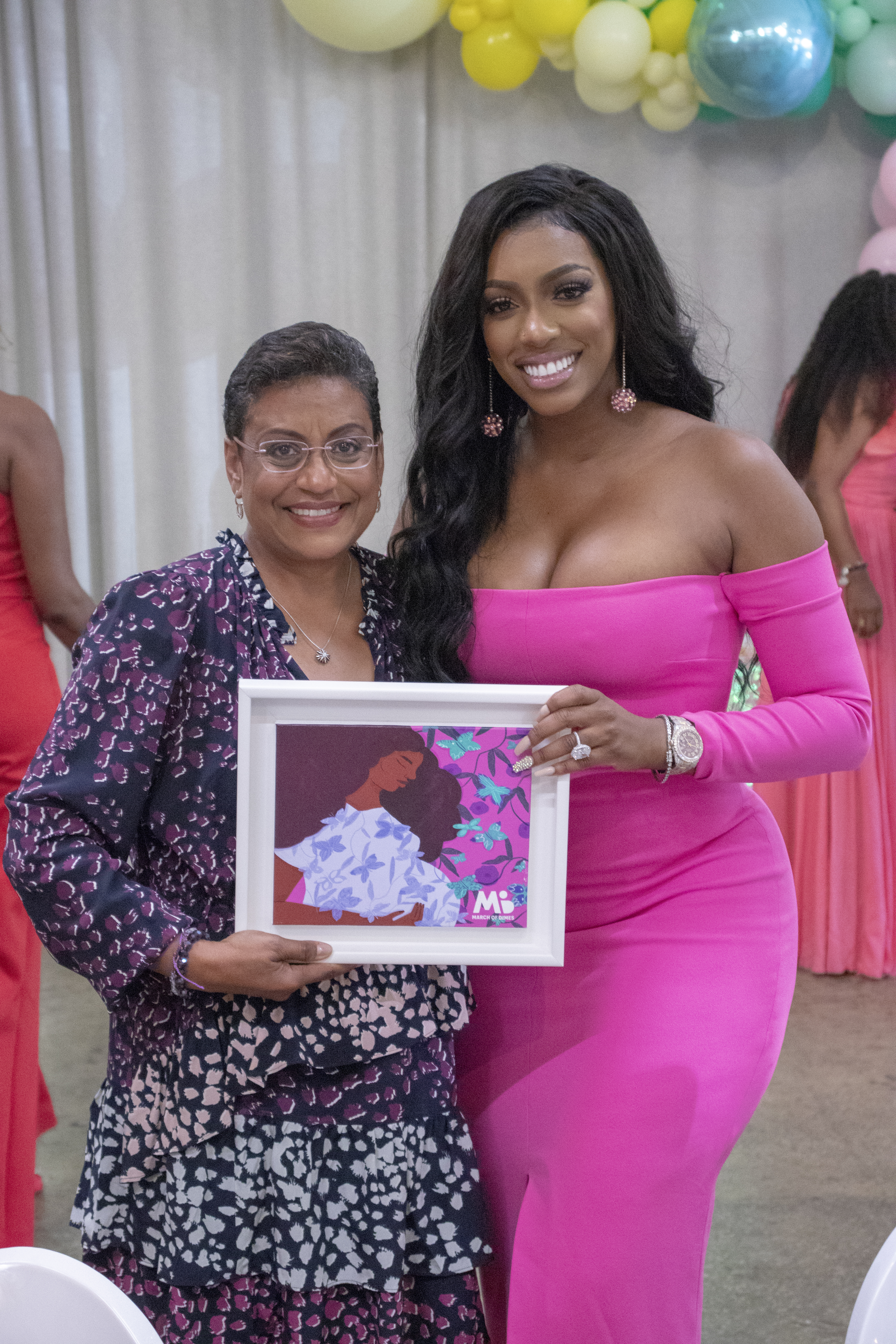 Rhoa's Porsha Williams Joins March Of Dimes As An Advocate, Honored At Rainbow Luncheon
