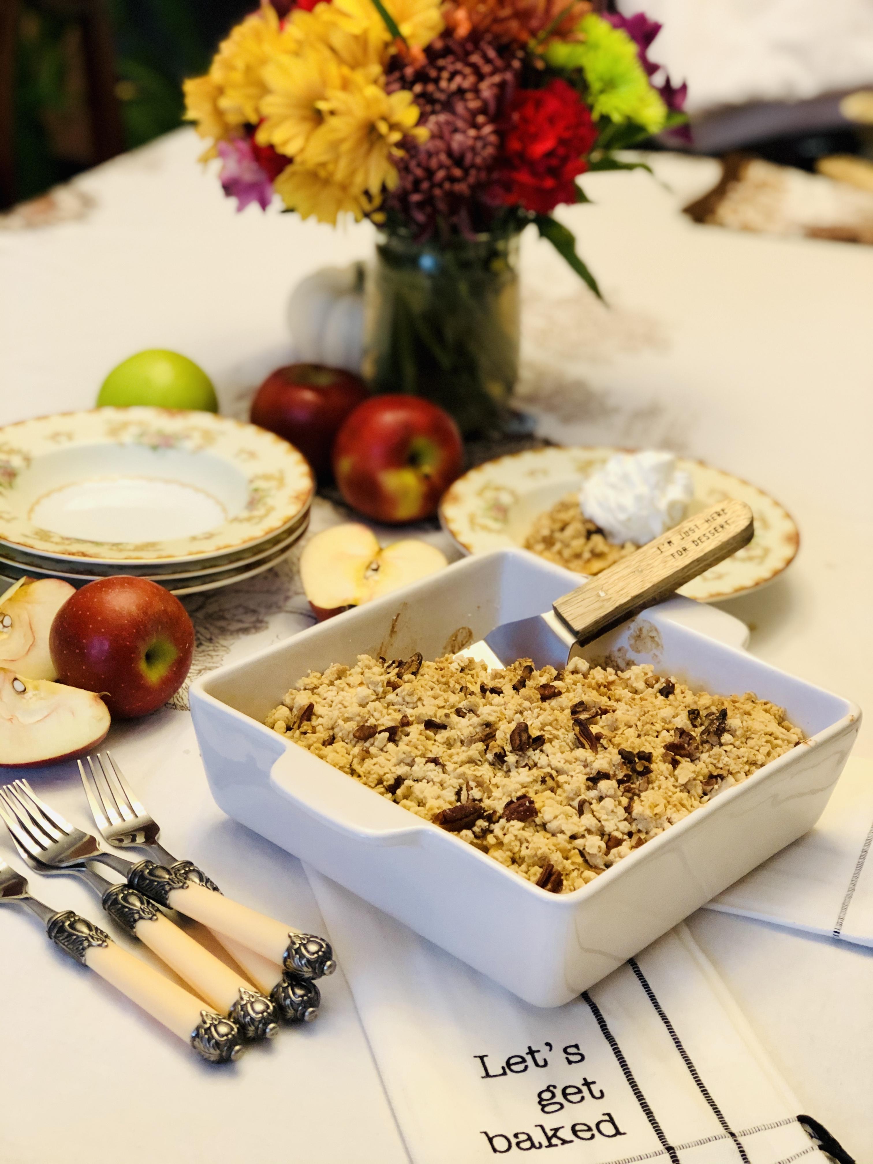 Recipe: Deep Dish Apple Crisp