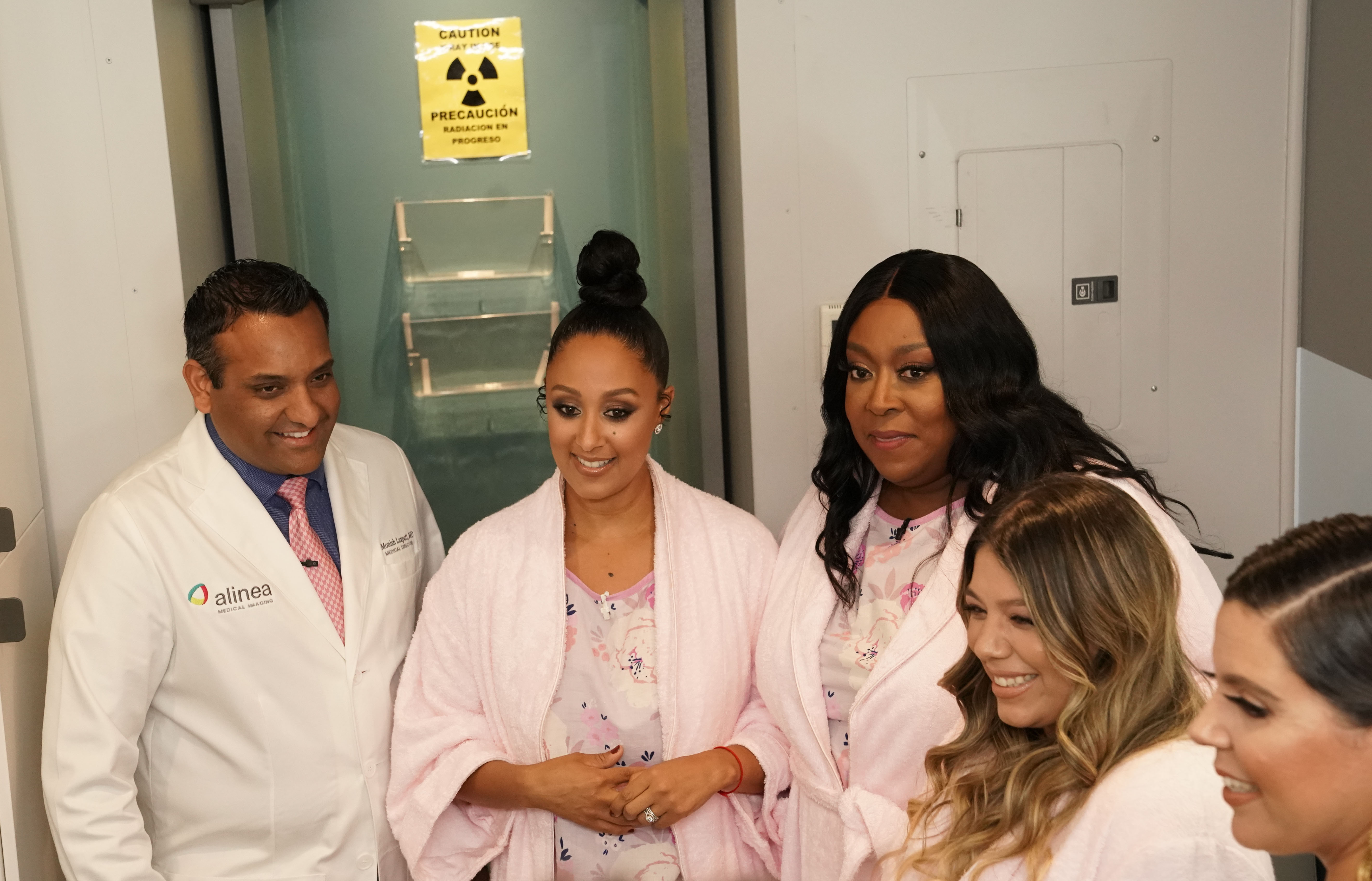 THE REAL Co-Hosts Tamera & Loni Get Mammograms With A Fan AND The Supremes' Mary Wilson Stops By!