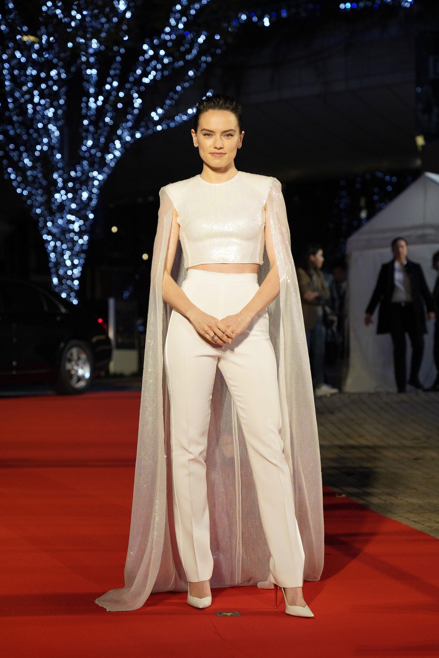 Wardrobe Breakdown: Daisy Ridley Star Wars The Rise Of Skywalker Japan Red Carpet Fan Event