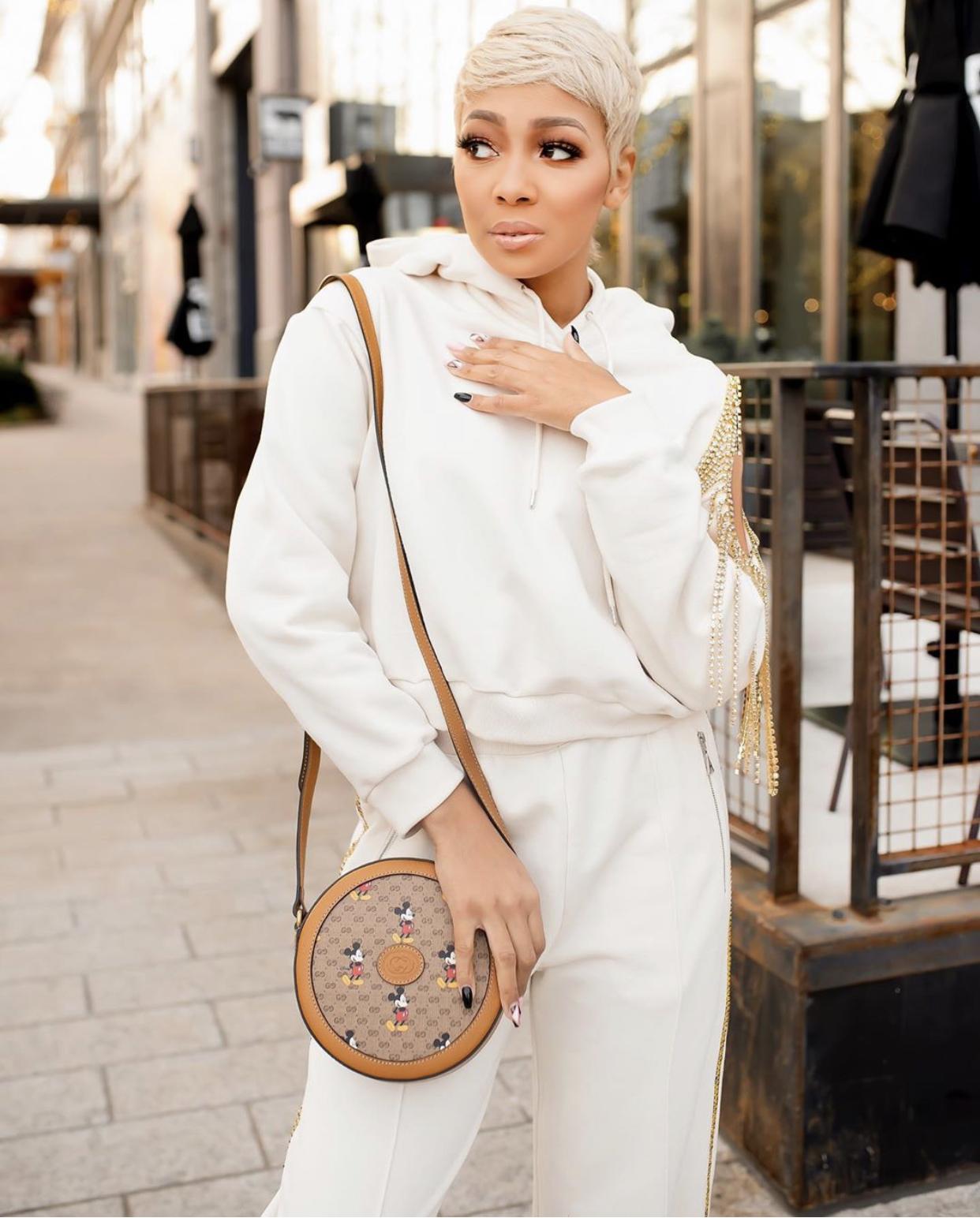 Wardrobe Breakdown: Monica Out & About In Atlanta