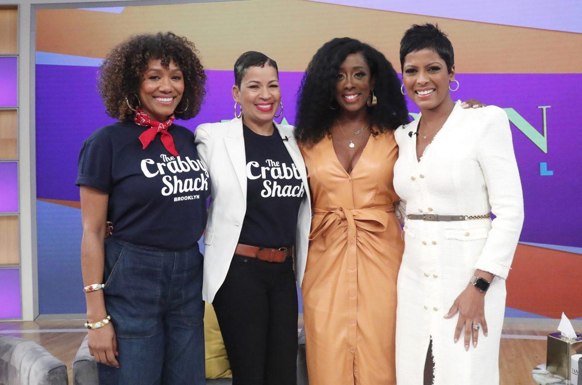 Tamron Celebrates Black Female Entrepreneurs On 'Tamron Hall Show' - Talking With Tami