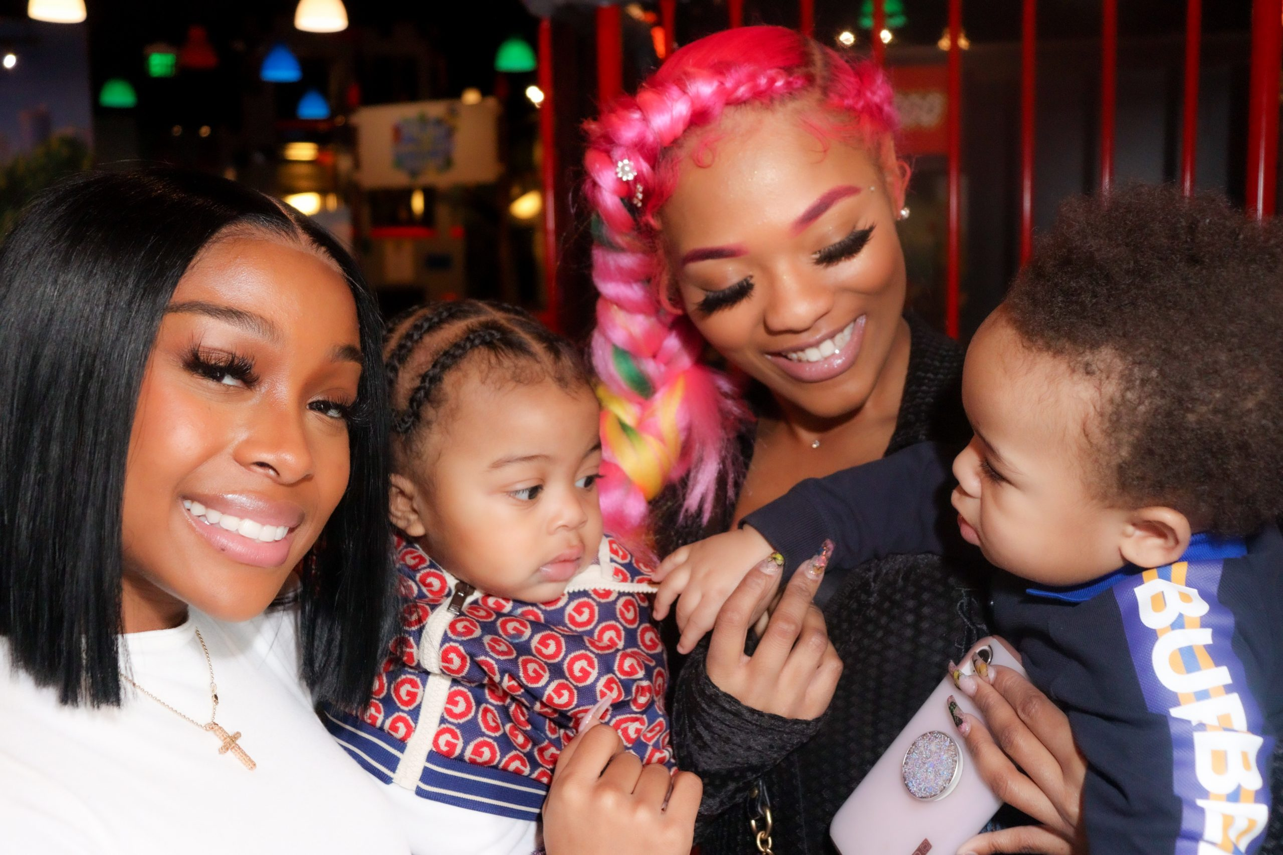 Legend Attends Rapper Lil Baby & Jayda's Son Loyal's First Birthday #LoyalLand
