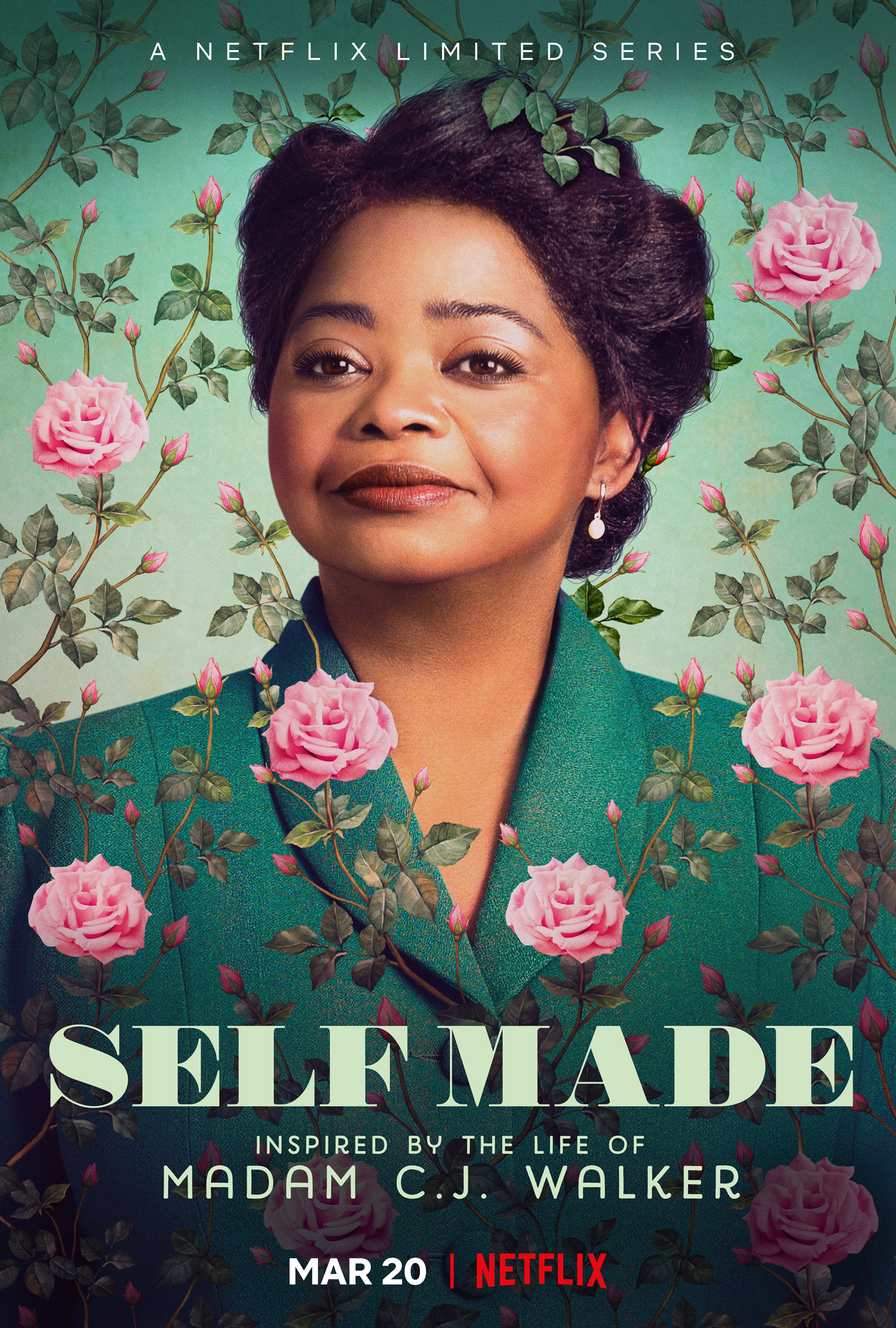 First Look: 'Self Made' Starring Octavia Spencer