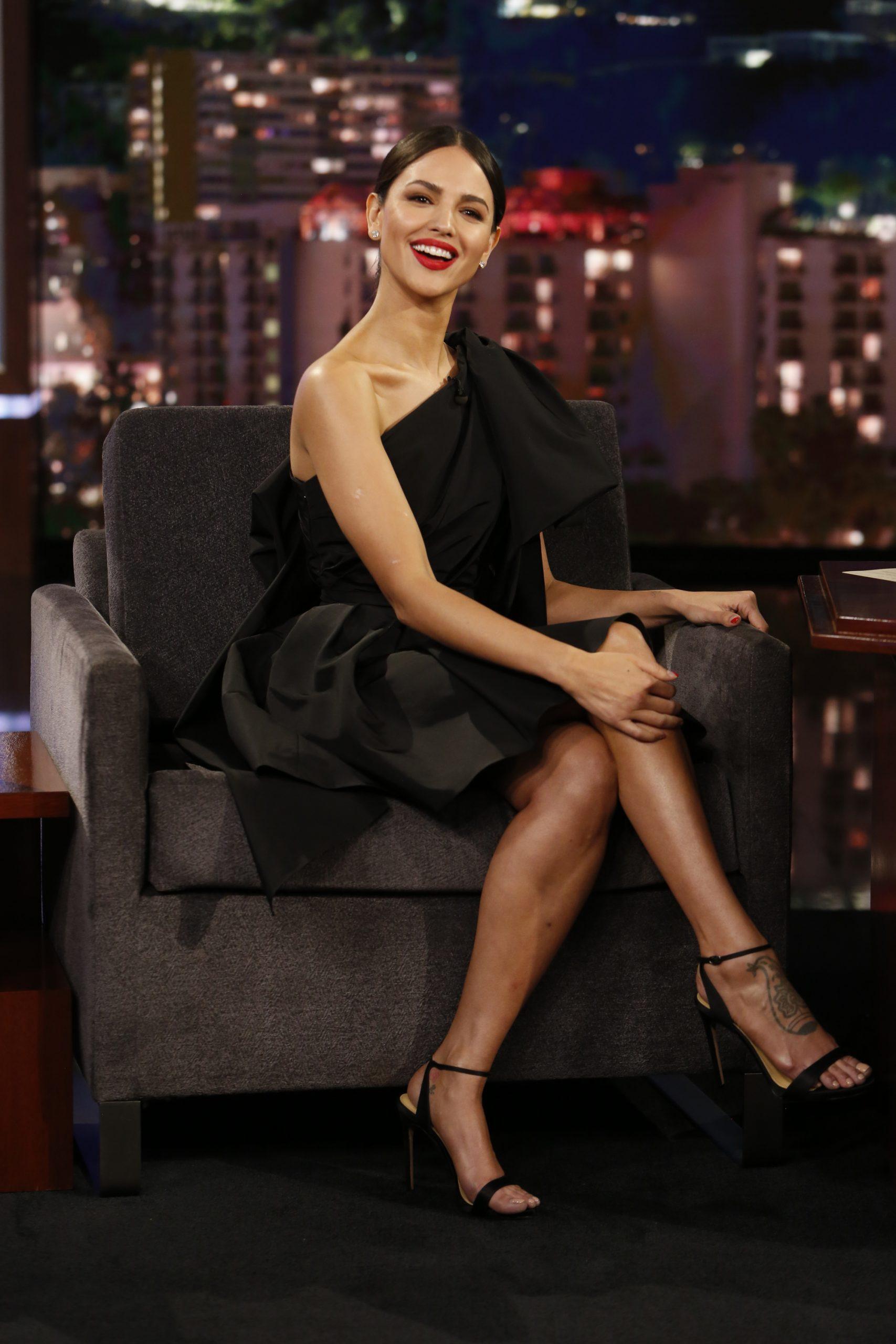 Wardrobe Breakdown: Eiza González On Jimmy Kimmel Live