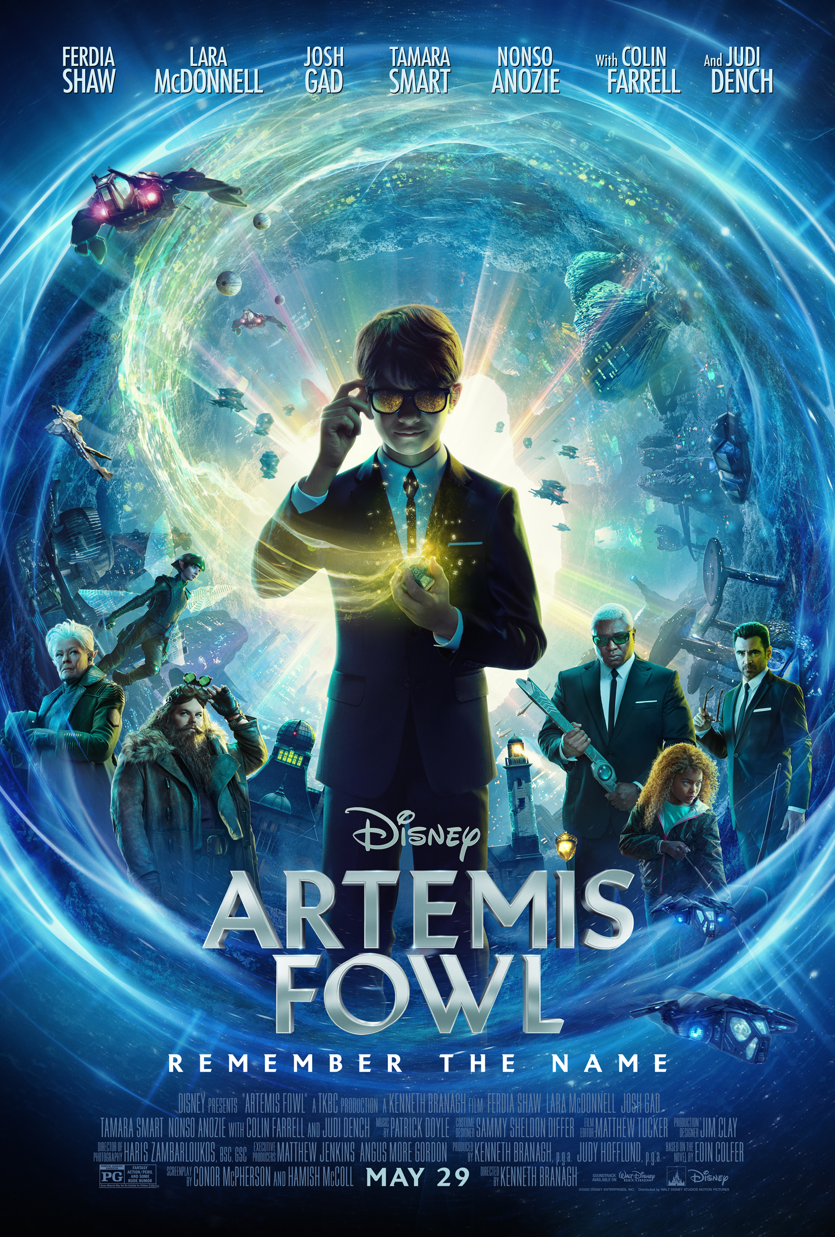 New Movie: Disney Artemis Fowl