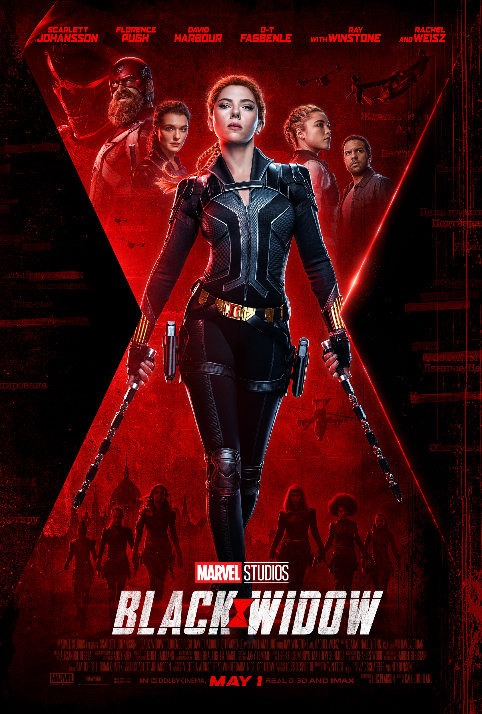 New Movie: Black Widow Starring Scarlett Johansson