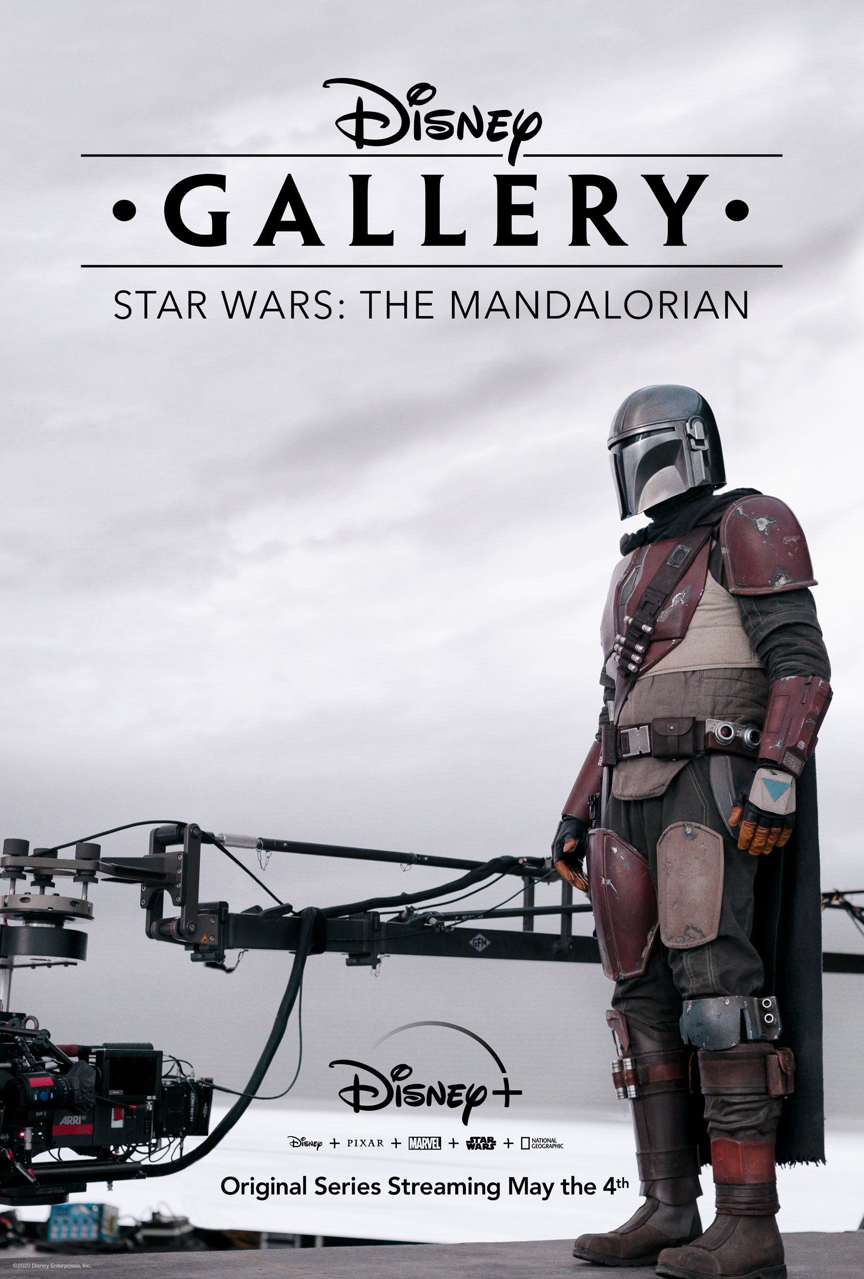 "Disney+ Releases ""Disney Gallery: The Mandalorian"" Trailer and Key Art"