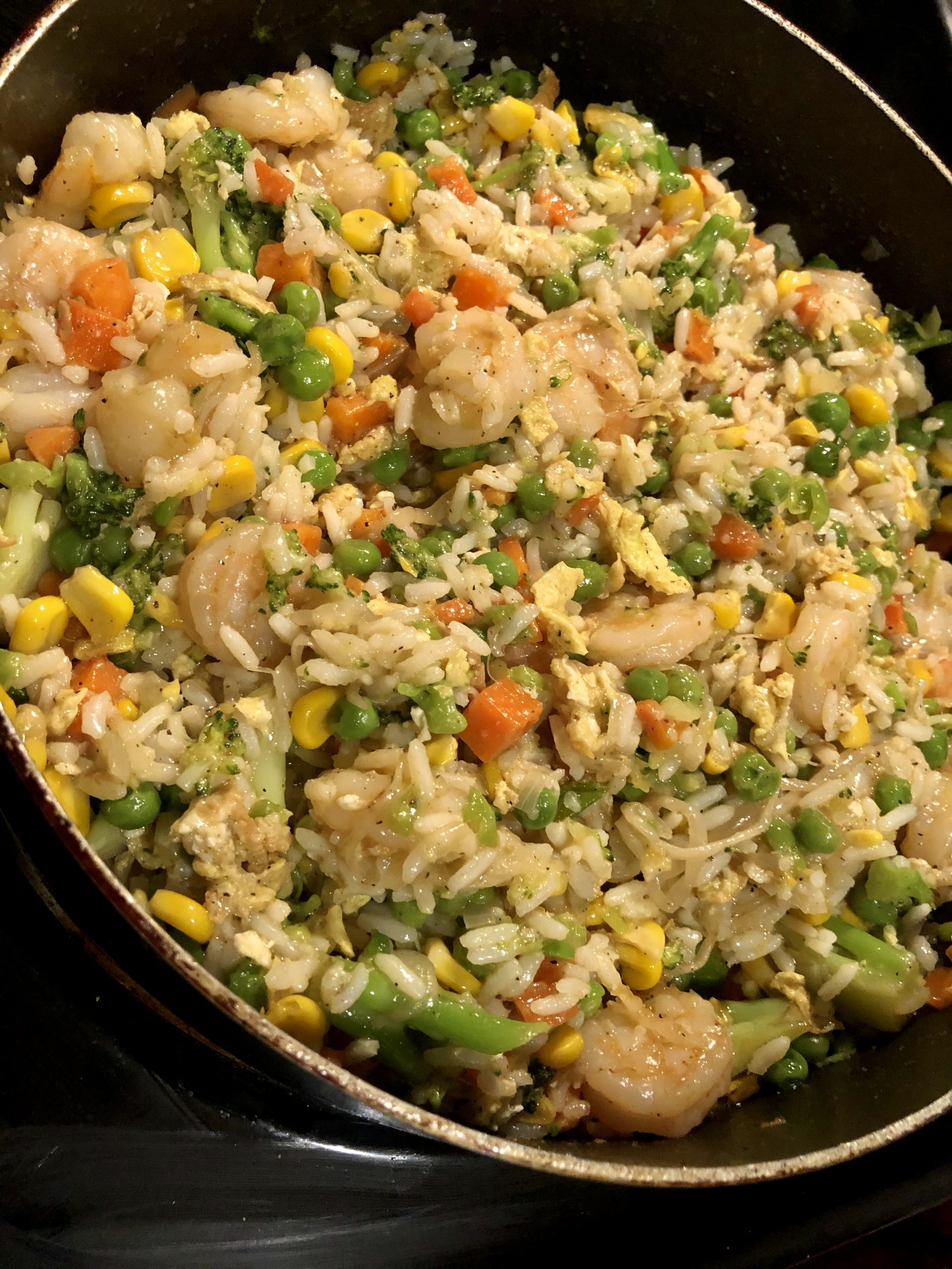 Recipe: Quick, Easy But Scrumptious Shrimp Fried Rice