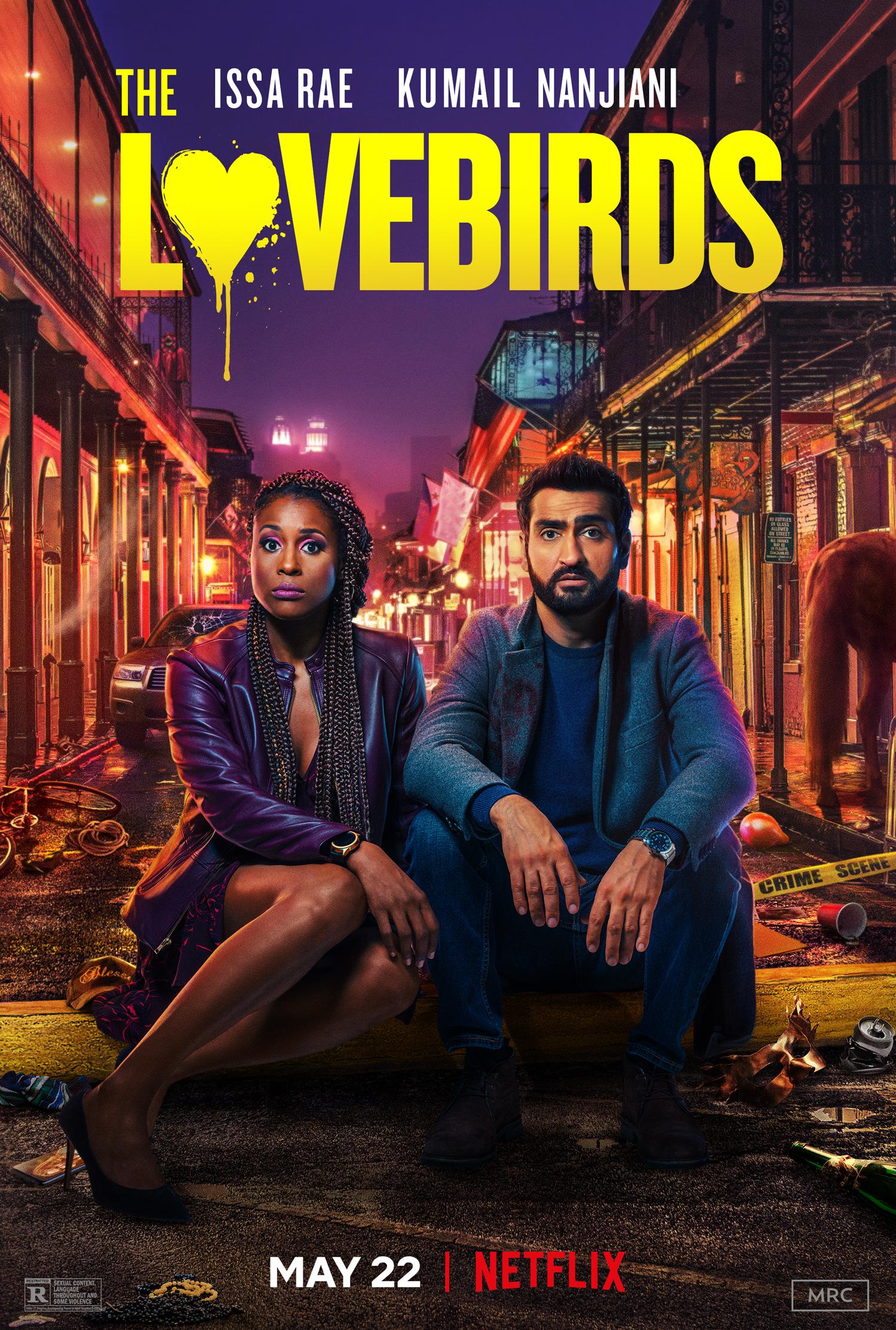 New Movie: Netflix's The Lovebirds Starring Issa Rae & Kumail Nanjiani