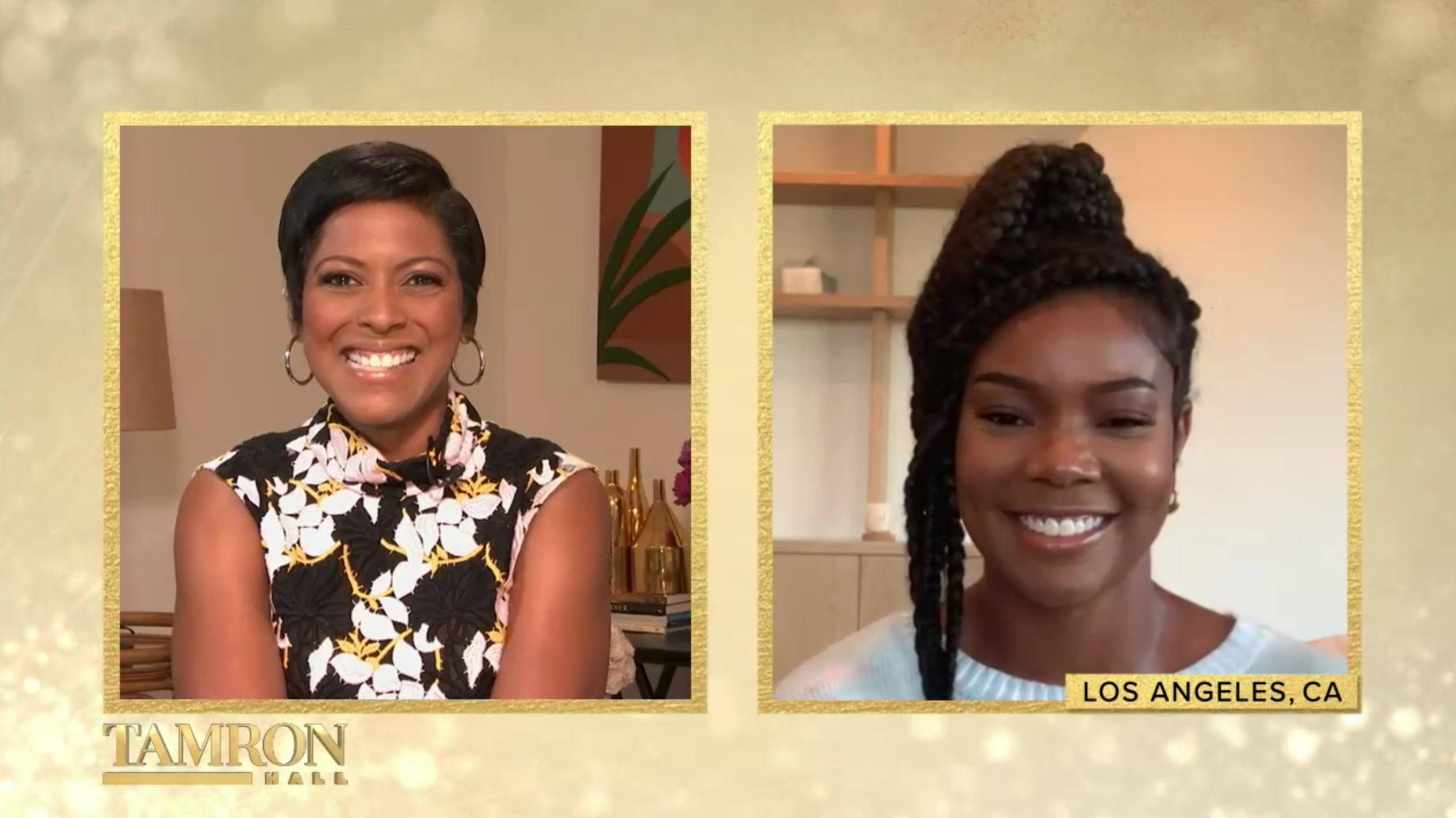 """Gabrielle Union And Parents Of The Late Disney Star, Cameron Boyce On Today's """"Tamron Hall"""""""