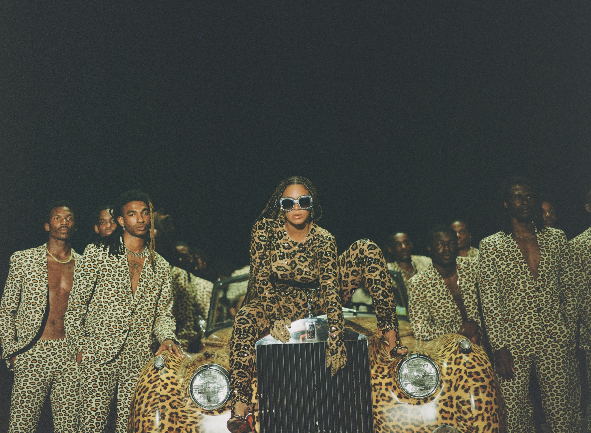 Black Is King Visual Album Produced By Beyonce