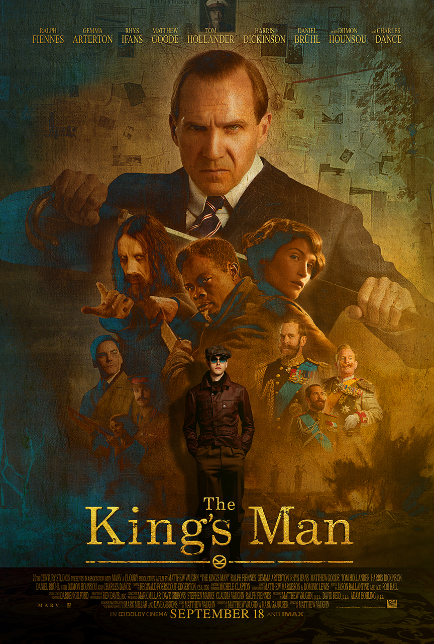 New Movie: The Kings Man Starring Ralph Fiennes & Djimon Hounsou