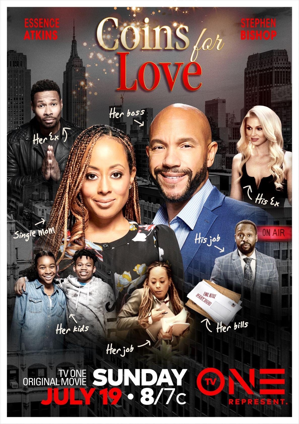 New Movie: Tv One's 'Coins For Love' Starring Essence Atkins & Stephen Bishop