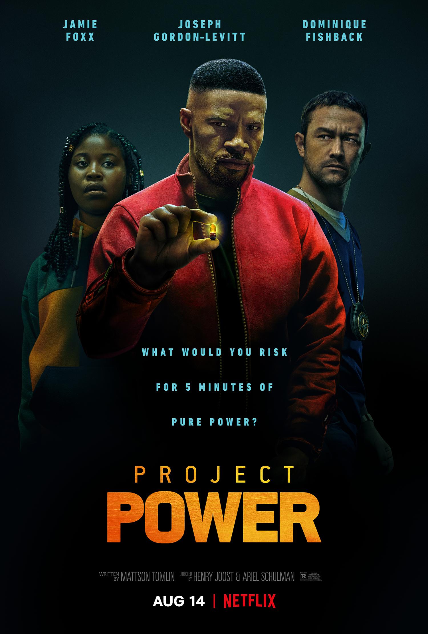 New Movie: Project Power Starring Jamie Foxx