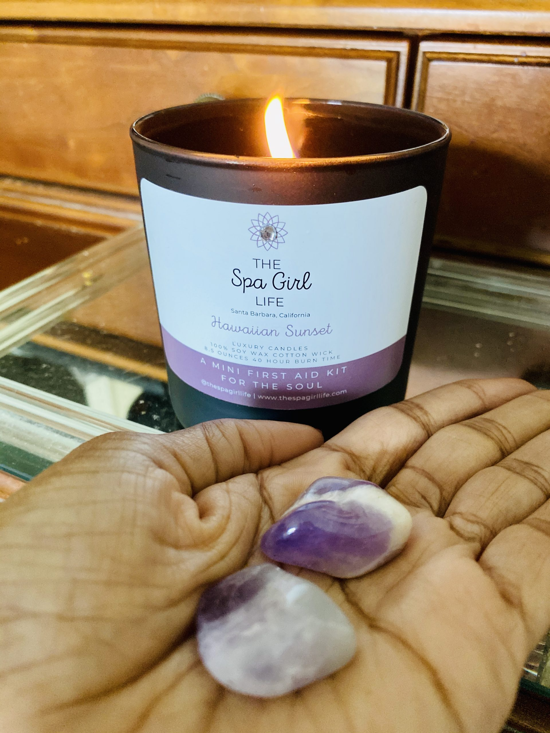 The Spa Girl Life Luxury Candles