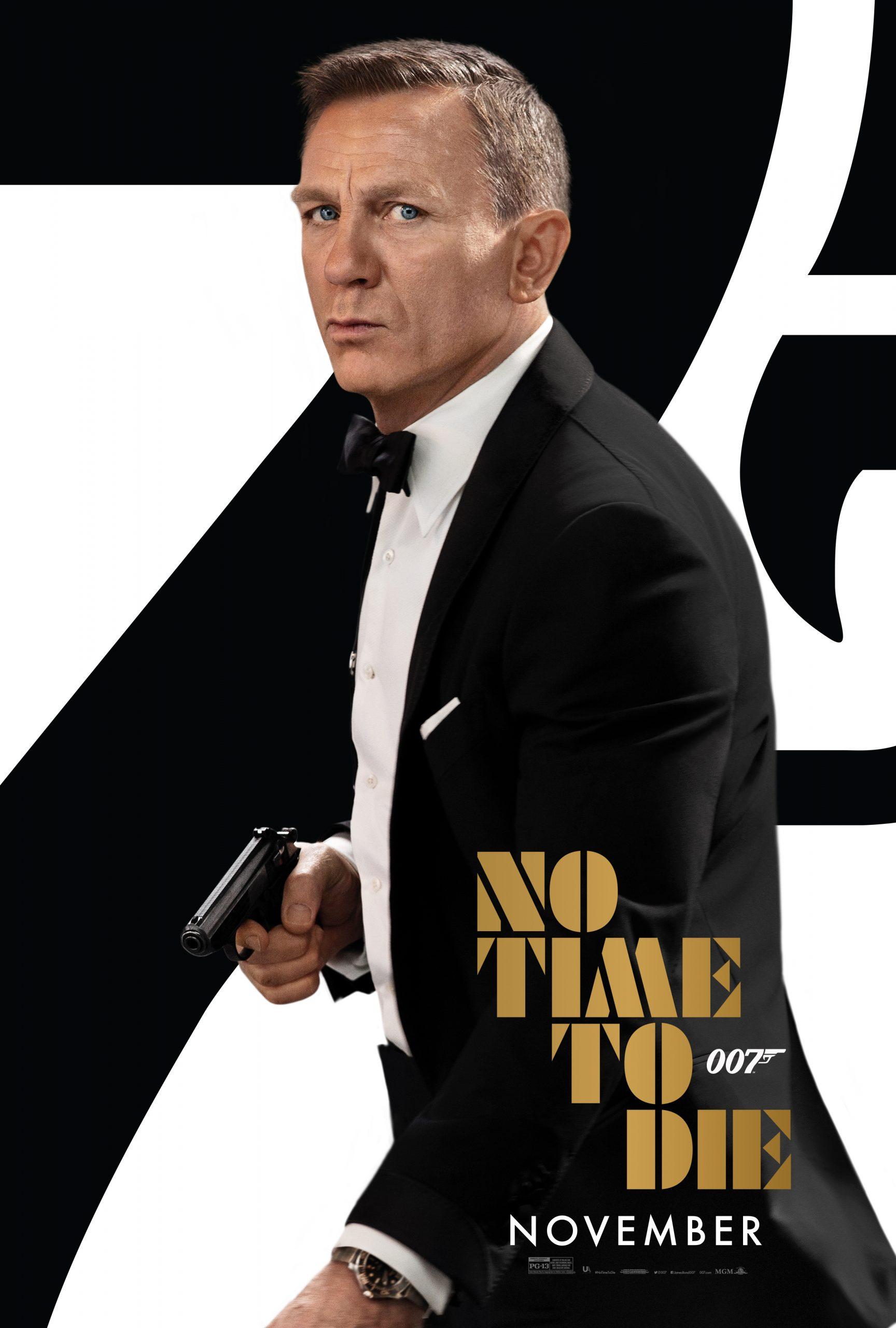 New Movie: No Time To Die Starring Daniel Craig
