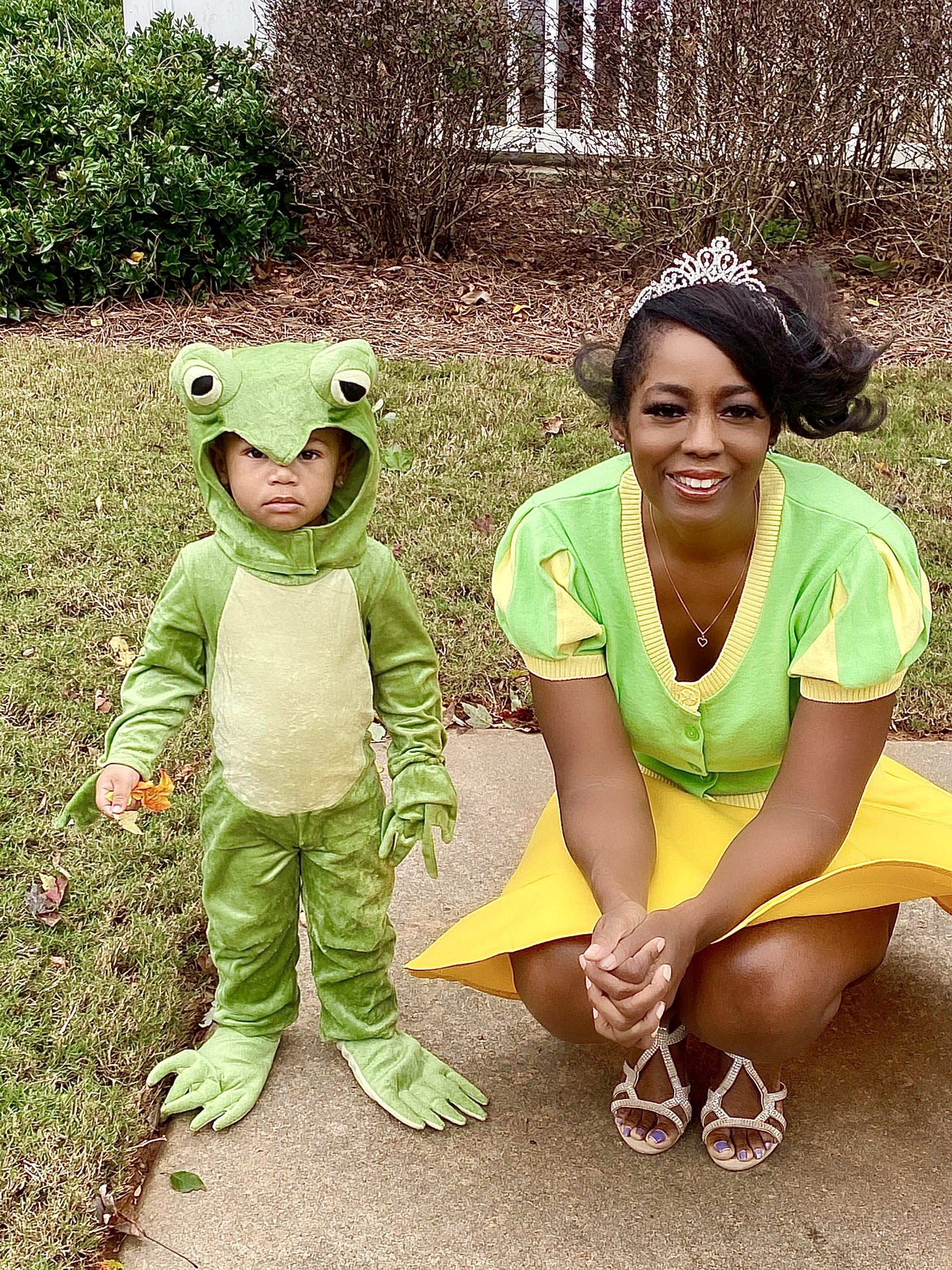 Our Style: Baby Legend And I 'The Princess And The Frog'