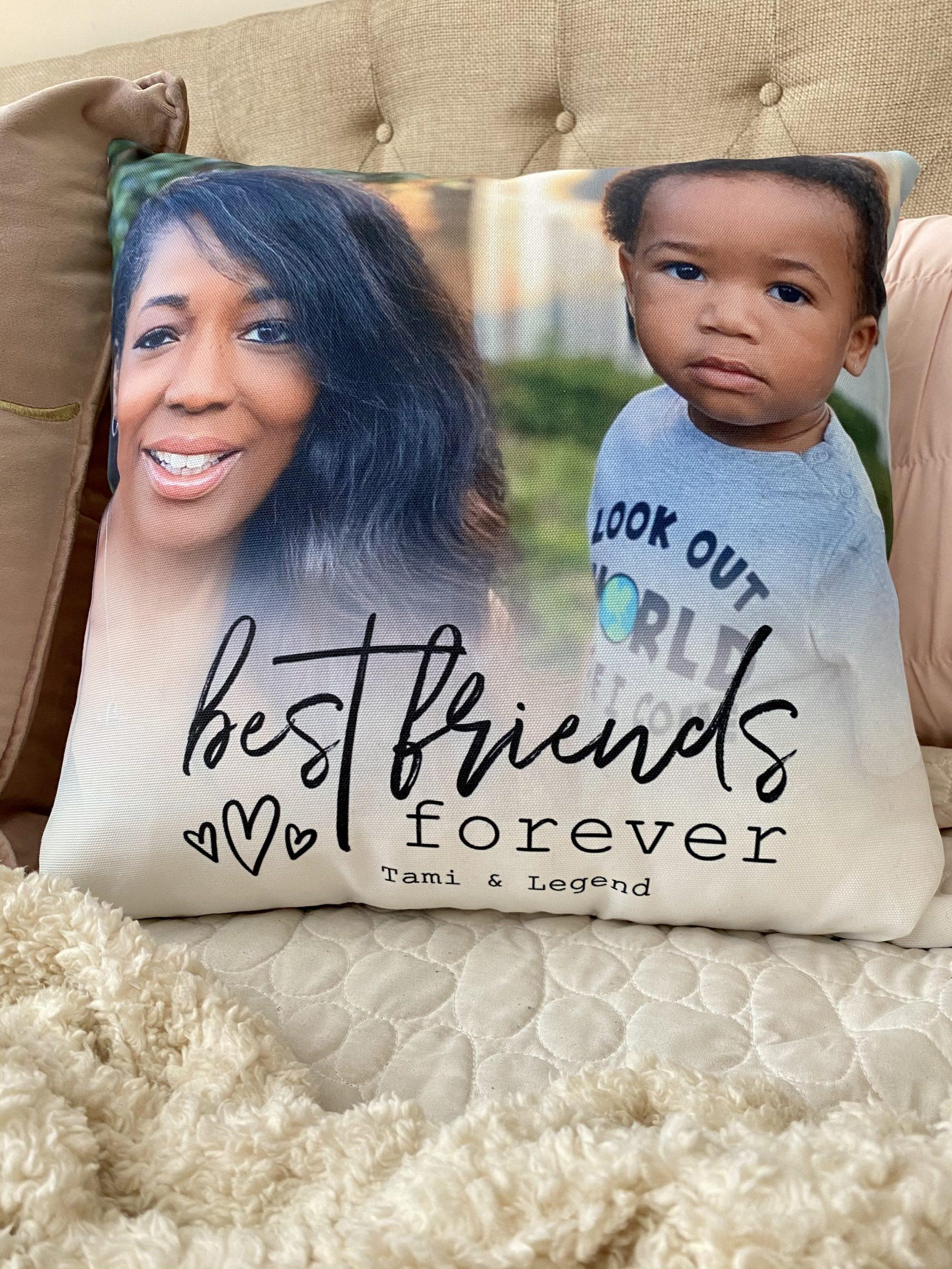 Gift Idea: Customized Photo Pillow