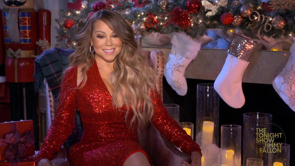 Wardrobe Breakdown: Mariah Carey On 'The Tonight Show Starring Jimmy Fallon'