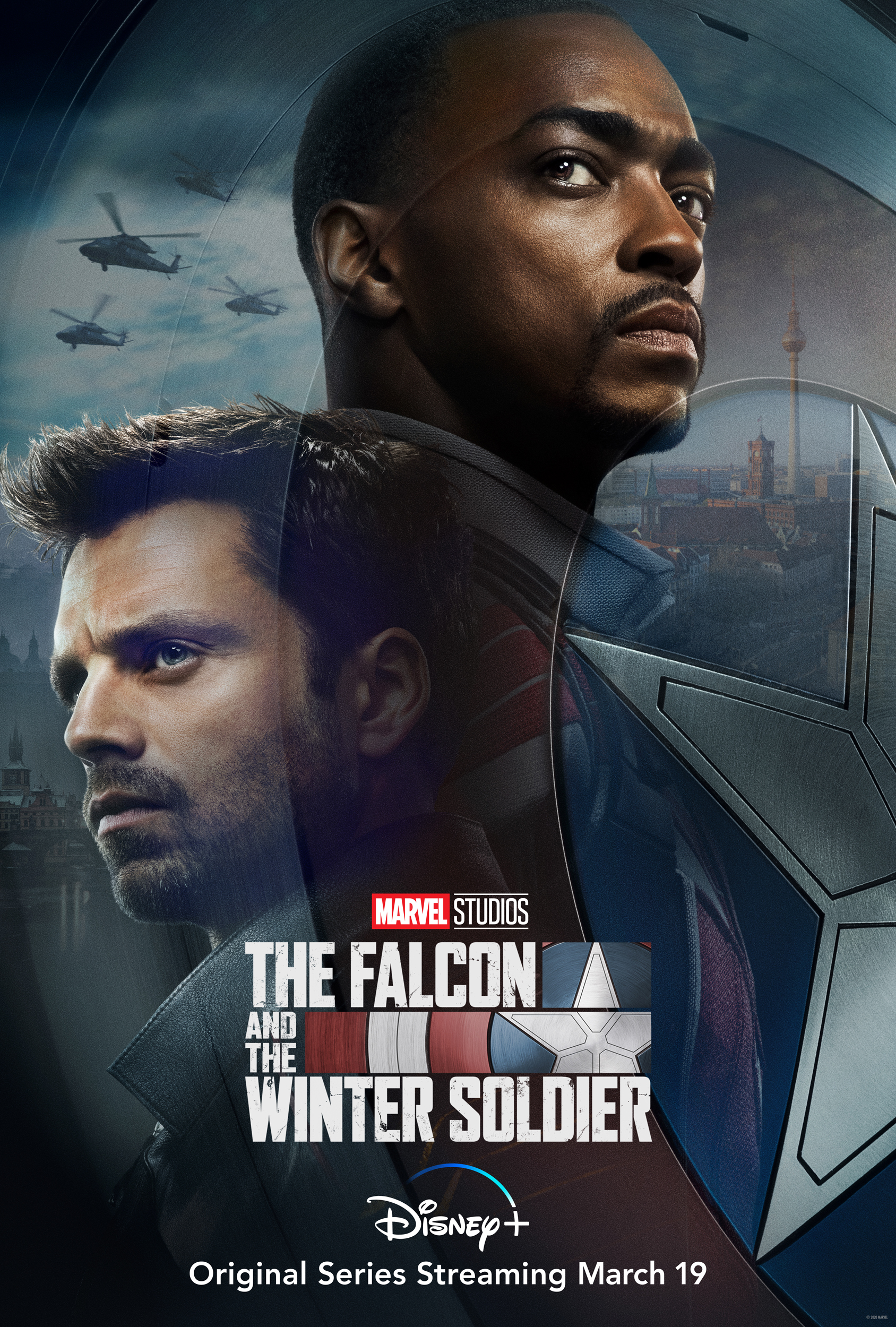 First Look: The Falcon And The Winter Soldier Starring Anthony Mackie