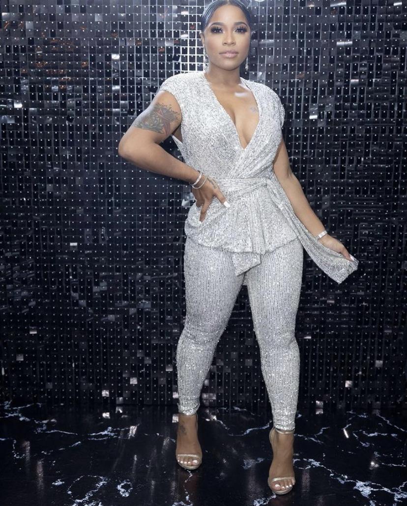 Wardrobe Breakdown: Toya Johnson Celebrates Fiancé Robert's 40th Birthday