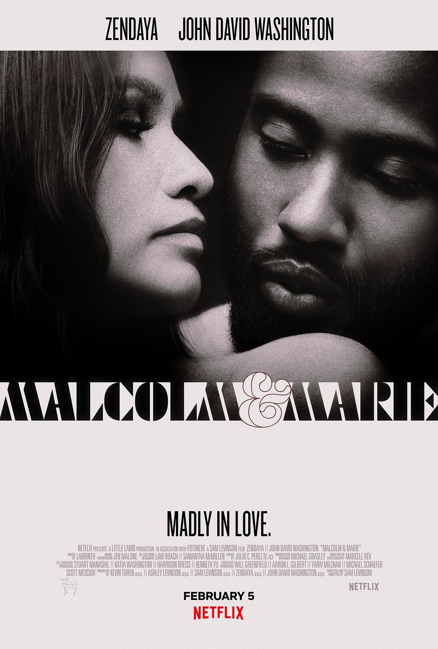 New Movie: Netflix's Malcom And Marie Starring Zendaya & John David Washington