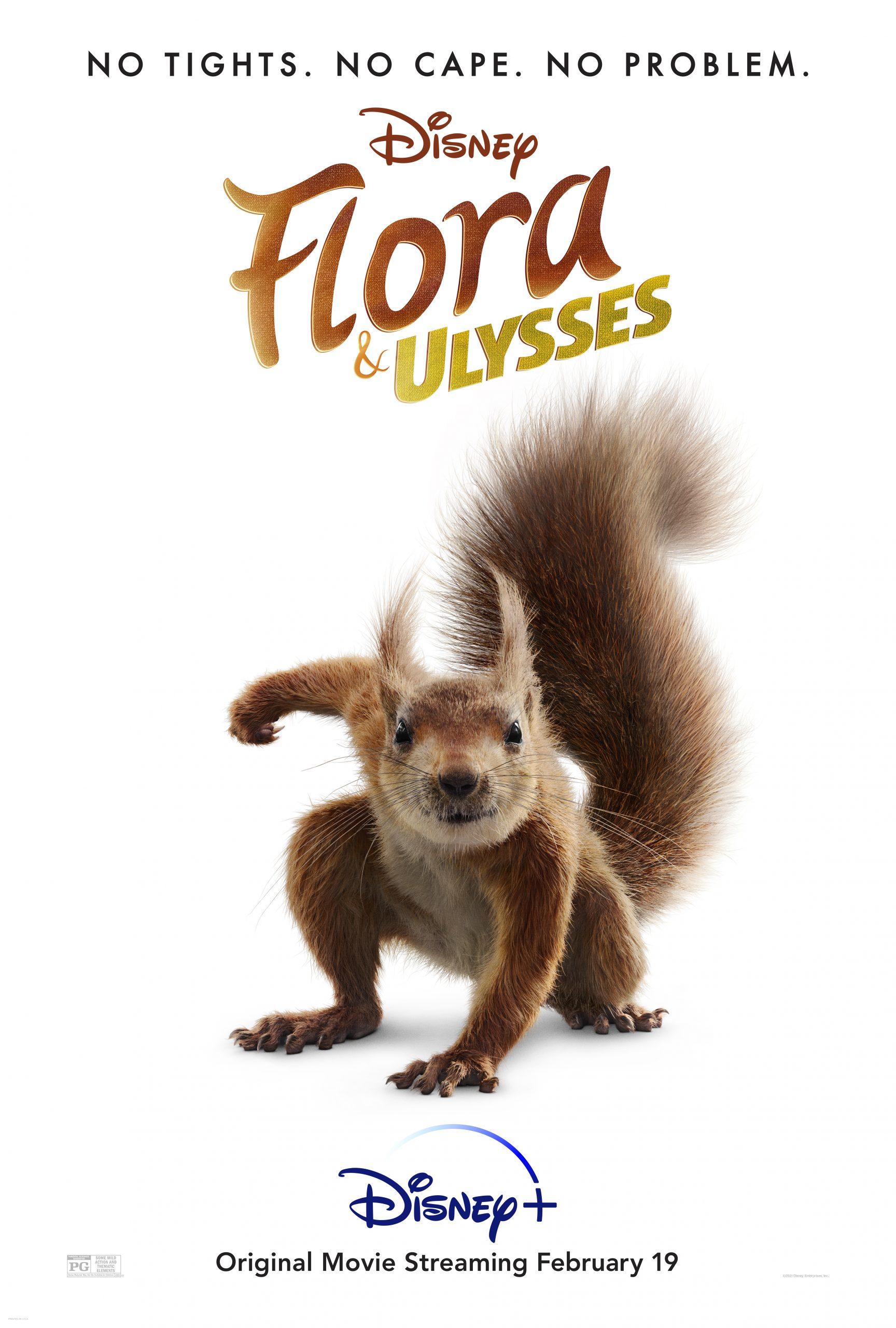 "New Movie: Disney ""FLORA & ULYSSES"" Starring Matilda Lawler"