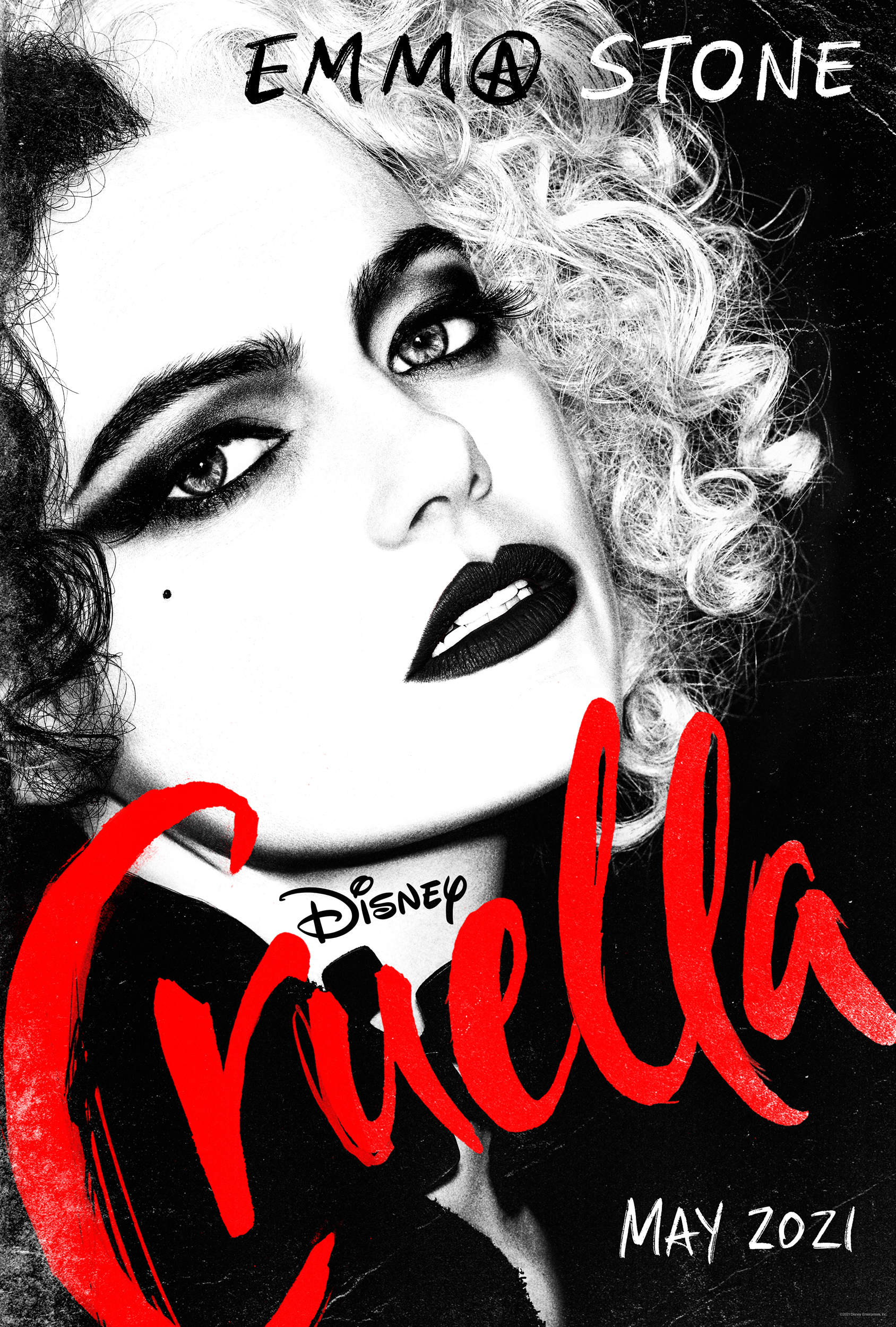 First Look: Disney's All-New 'Cruella' Starring Emma Stone