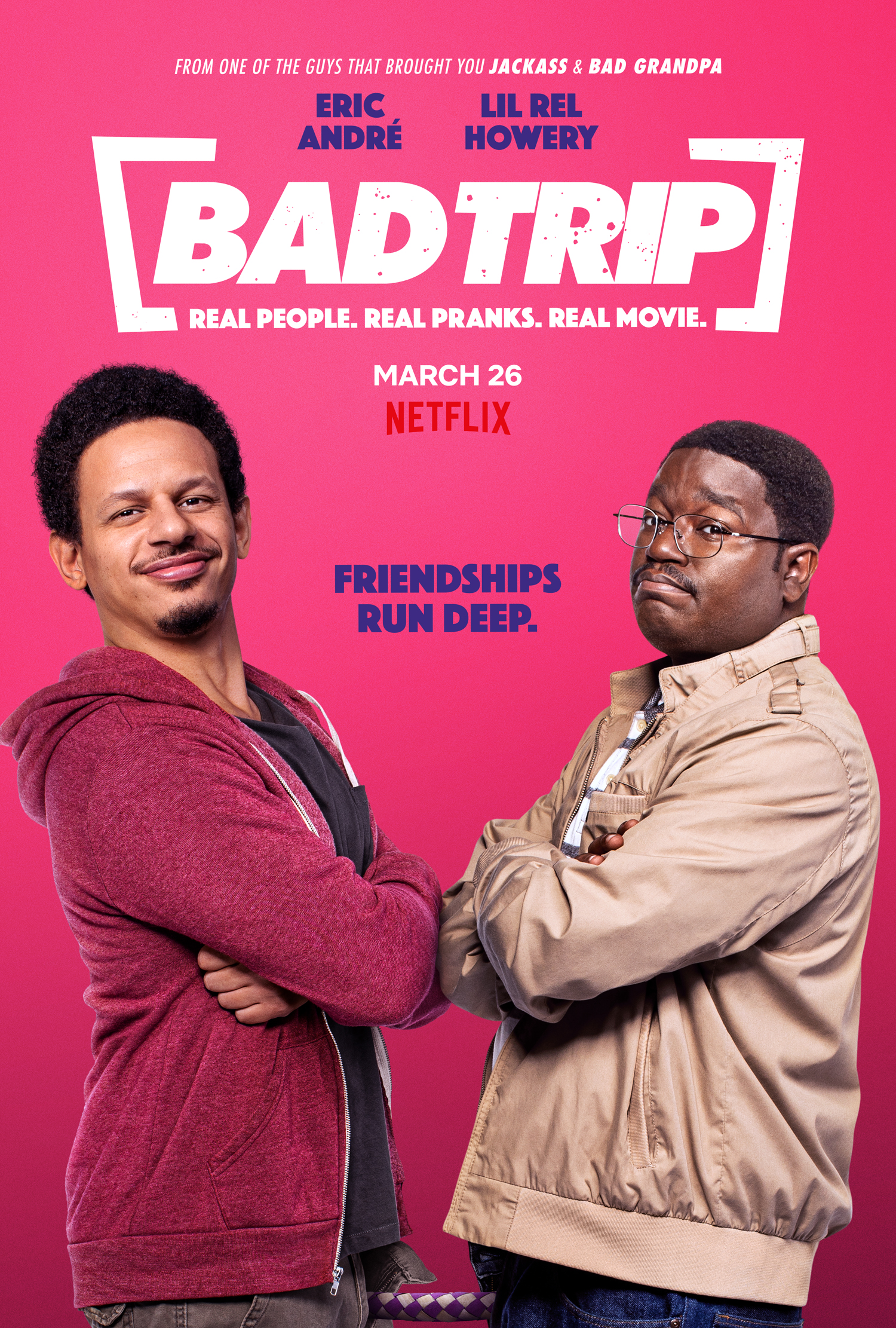 New Movie: Netflix Bad Trip Starring Tiffany Haddish & Lil Rel Howery