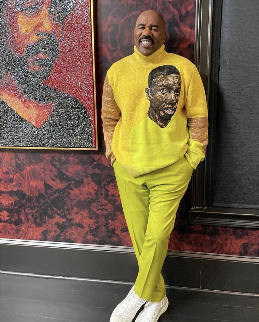 Wardrobe Breakdown: Steve Harvey On Ellen