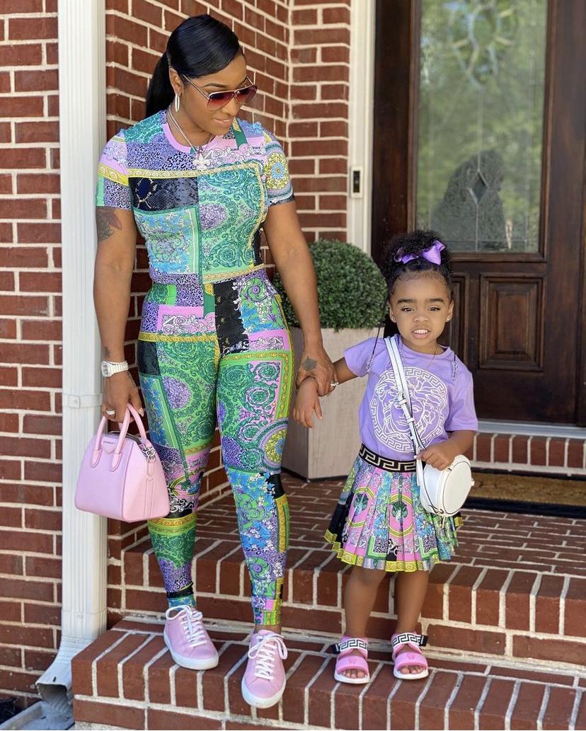 Wardrobe Breakdown: Toya Johnson And Daughter Reign On Instagram