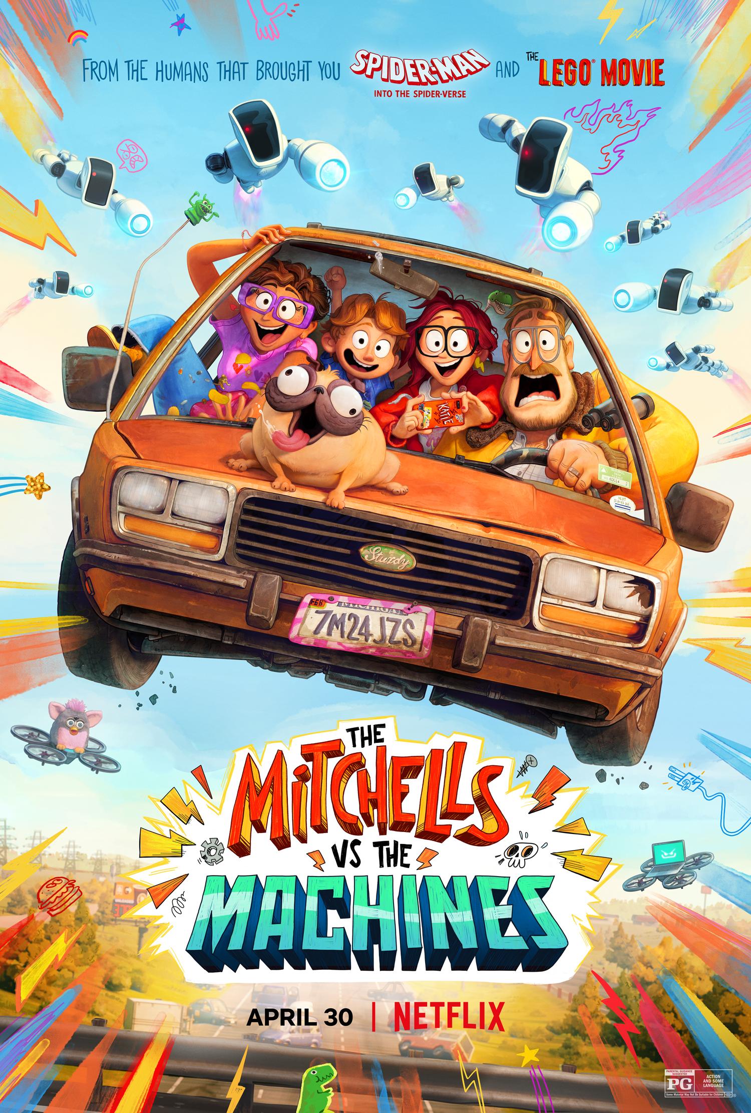 New Movie: Netflix's The Mitchells Vs The Machines
