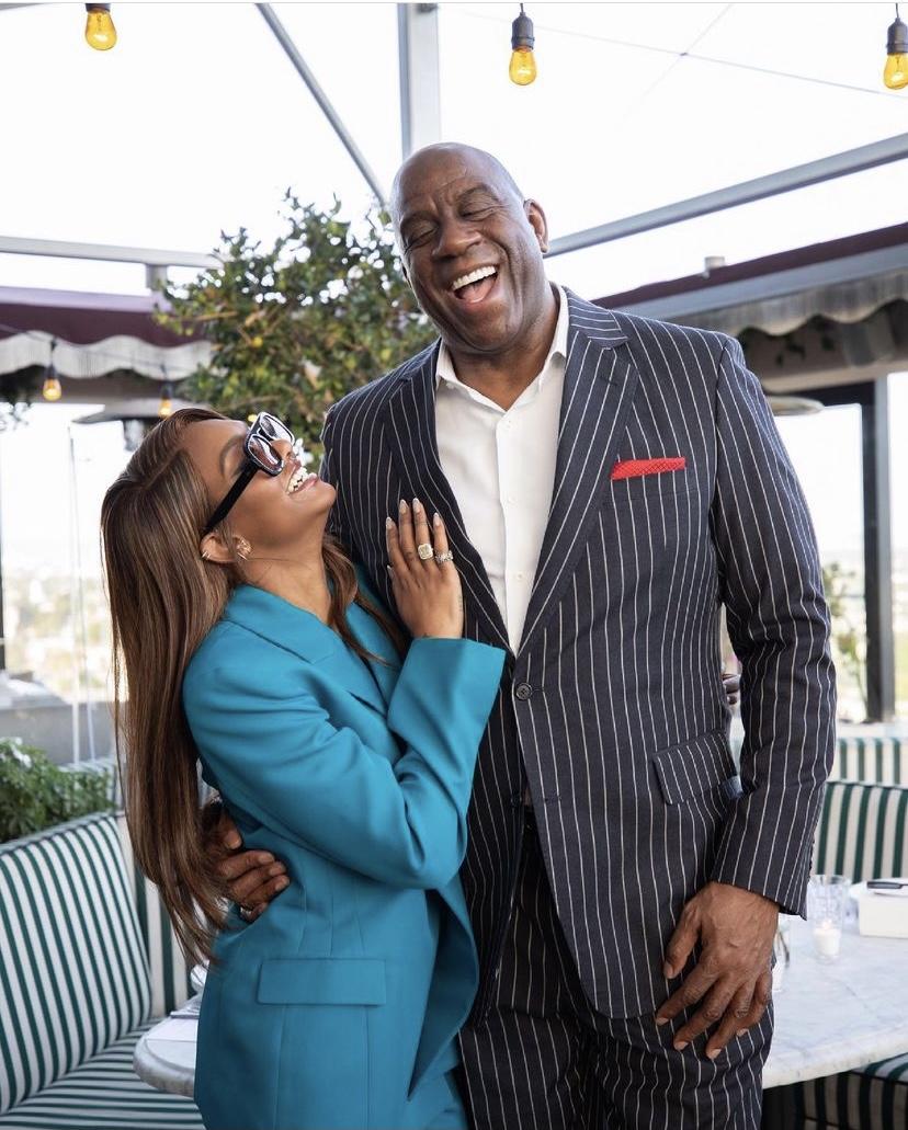 Magic Johnson's Daughter Elisa Launches Eyewear Line