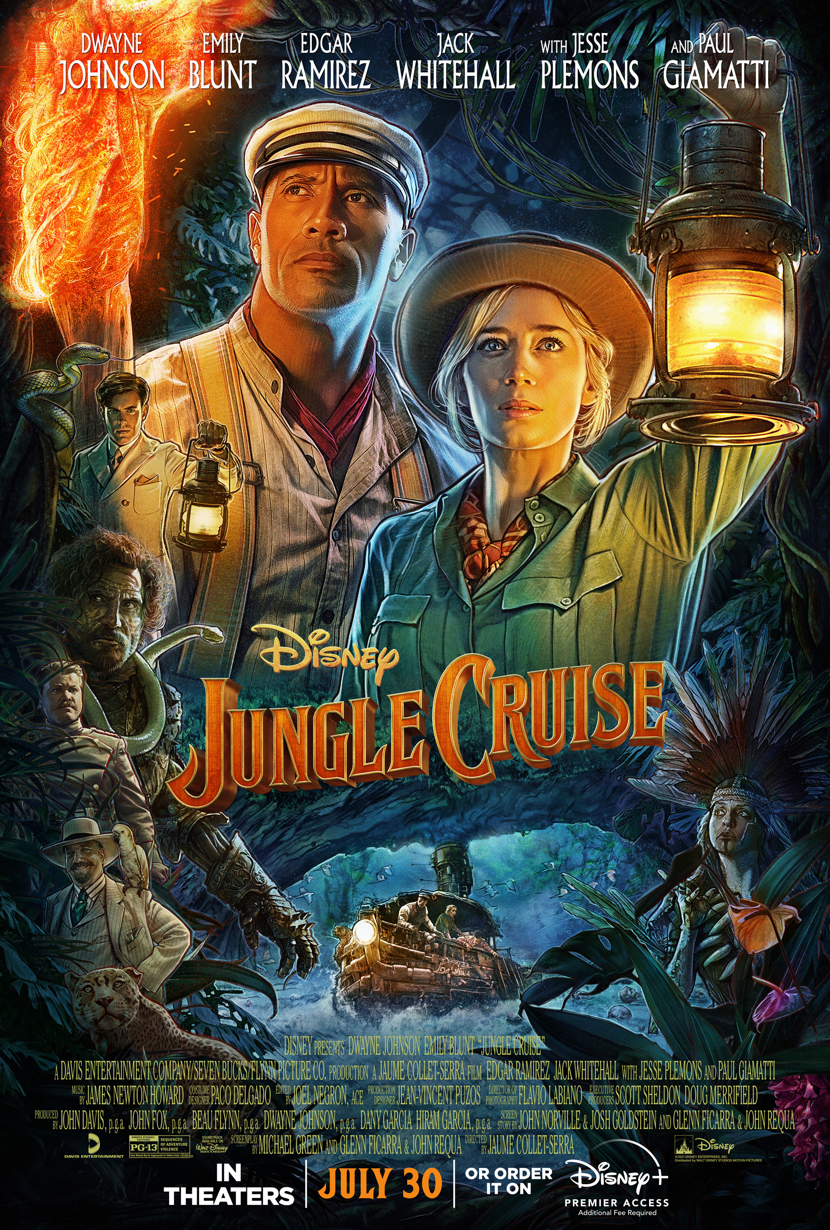 New Movie: Jungle Cruise Starring Dwayne Johnson & Emily Blunt