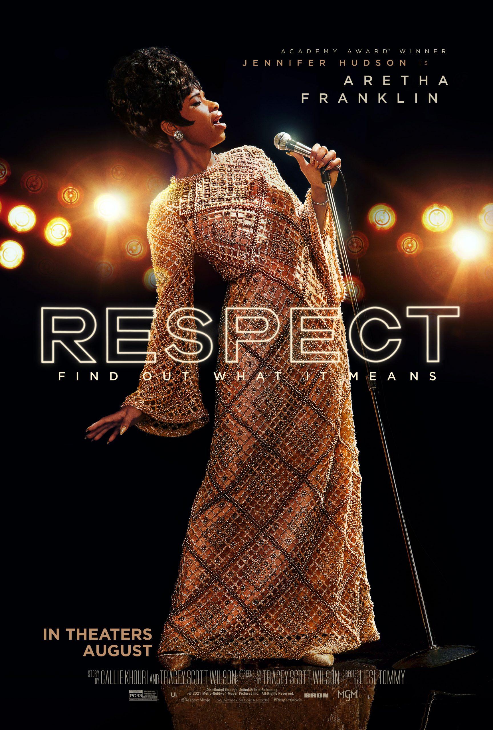 'Respect' New Poster And New Film Stills, Starring Jennifer Hudson