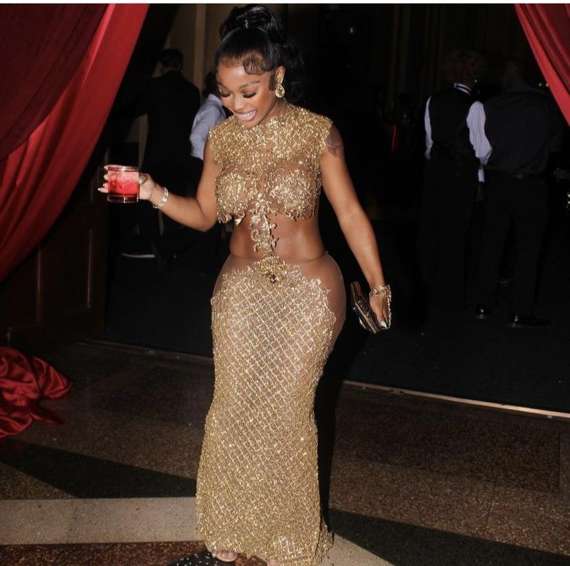 Wardrobe Breakdown: Jayda Cheaves At Pee's Birthday Celebration