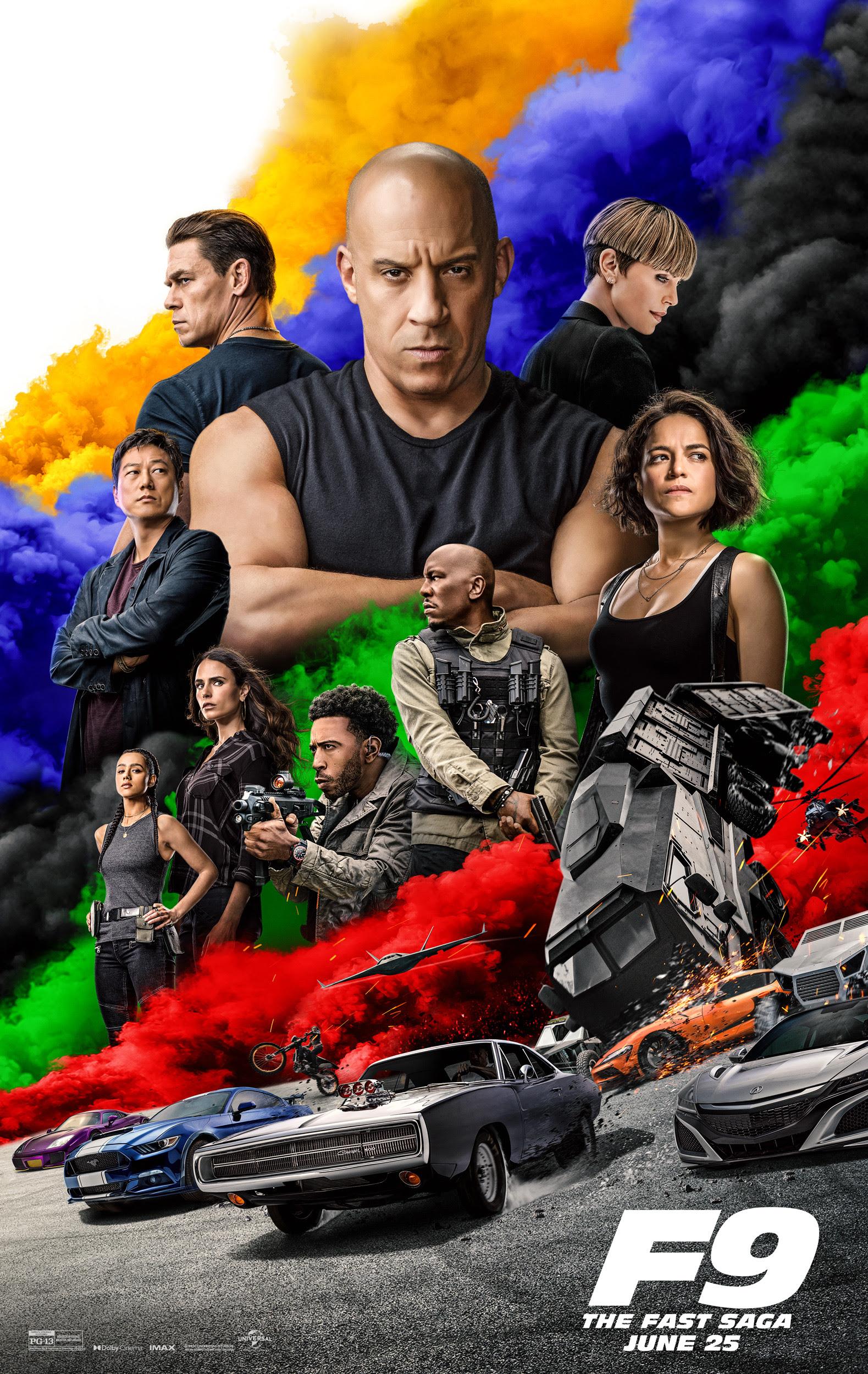 New Movie: 'F9 The Fast Saga' Starring Vin Diesel - Talking With Tami