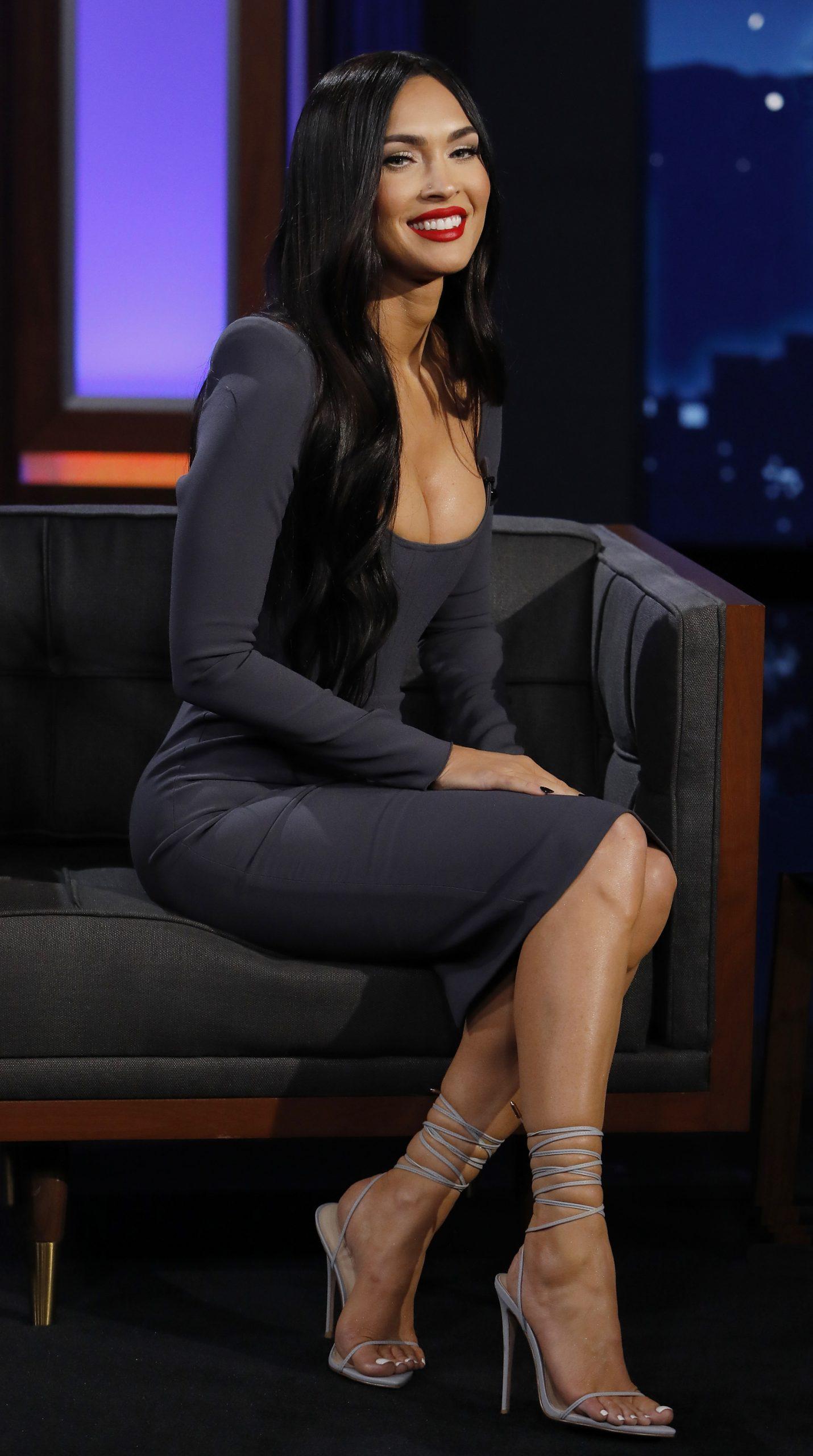 Wardrobe Breakdown: Megan Fox On Jimmy Kimmel Live