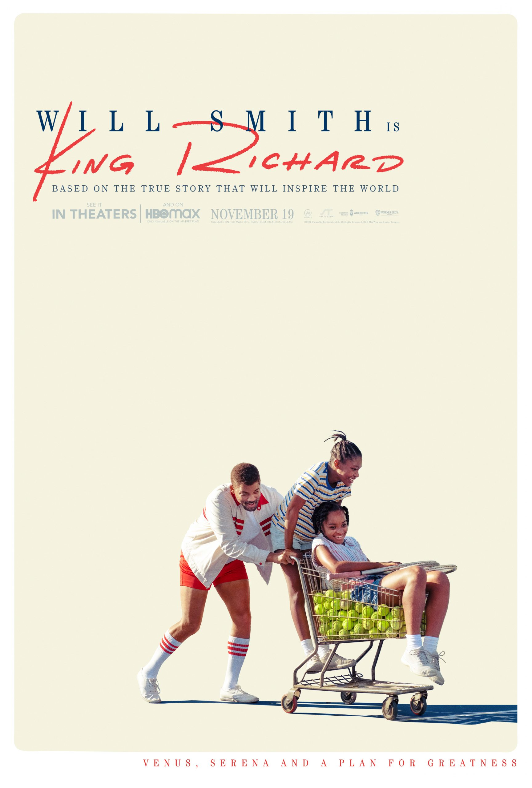 New Movie: 'King Richard' Starring Will Smith