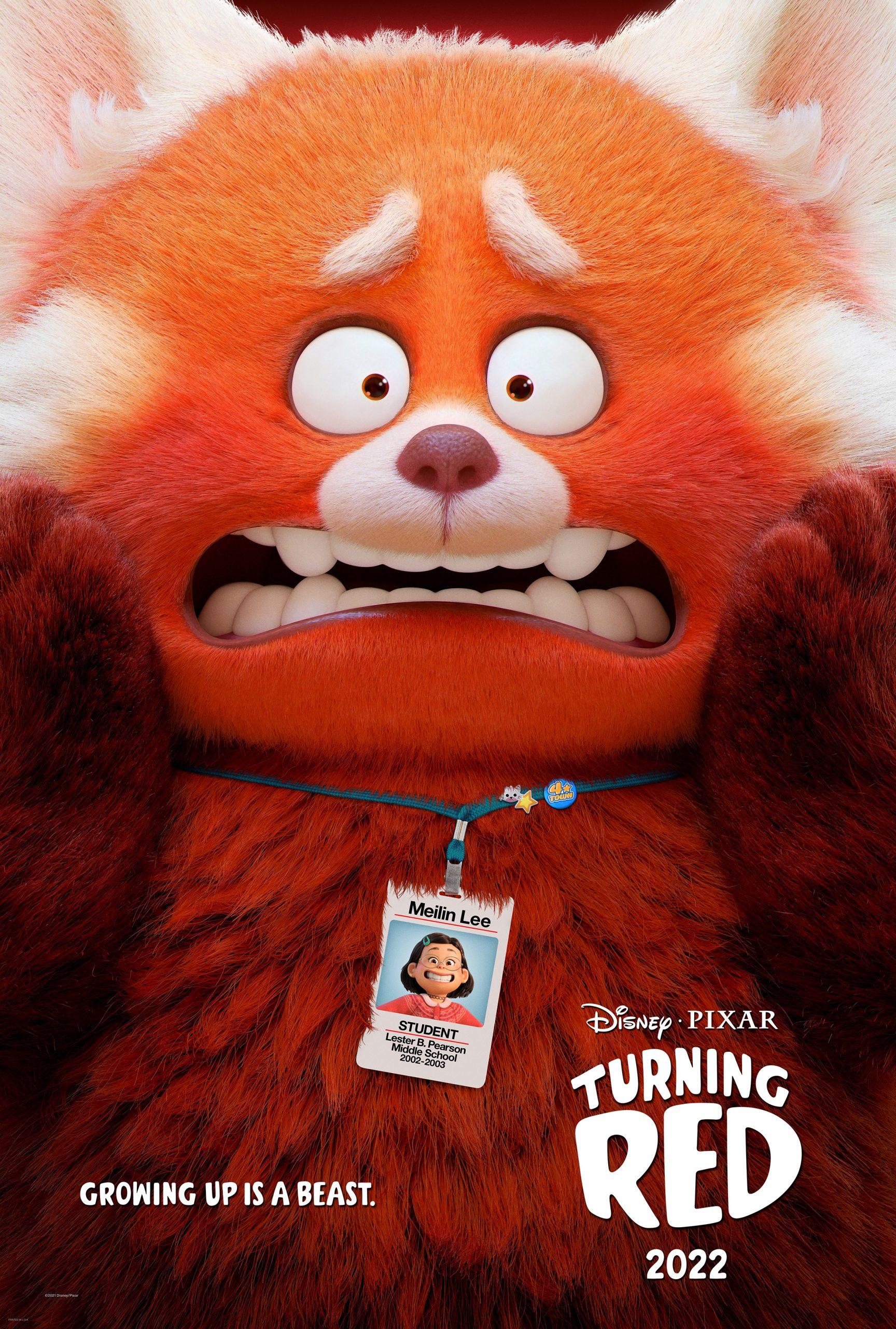 Disney Pixar's Turning Red
