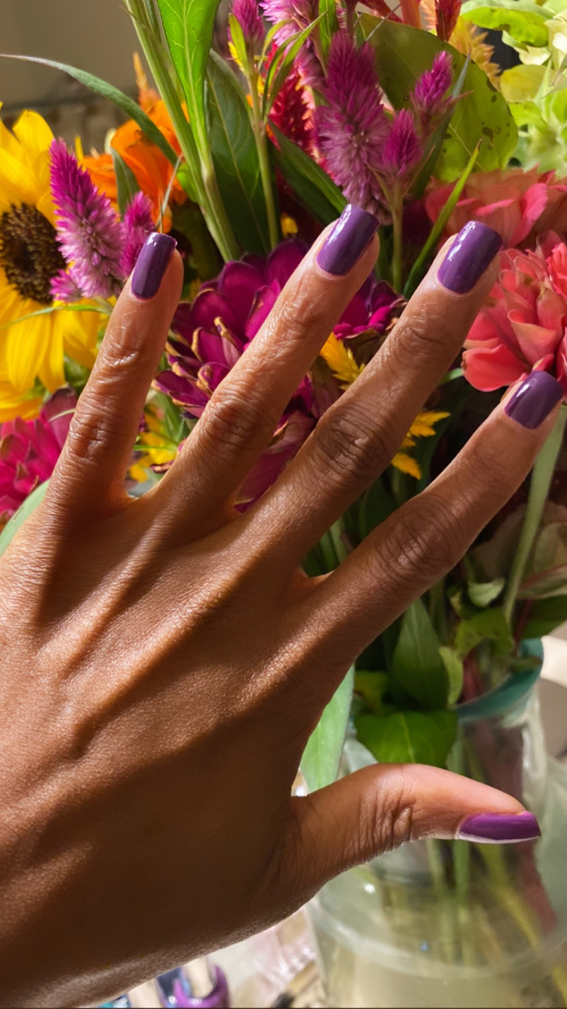 Get The Look: OPI's 'Violet Visionary' Polish From The Downtown L.A. Fall Collection