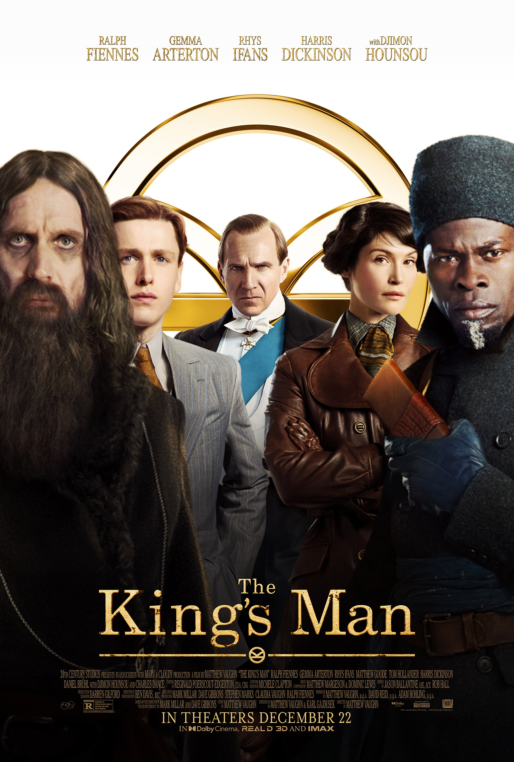 New Movie: The Kings Man Starring Ralph Fiennes, Djimon Hounsou