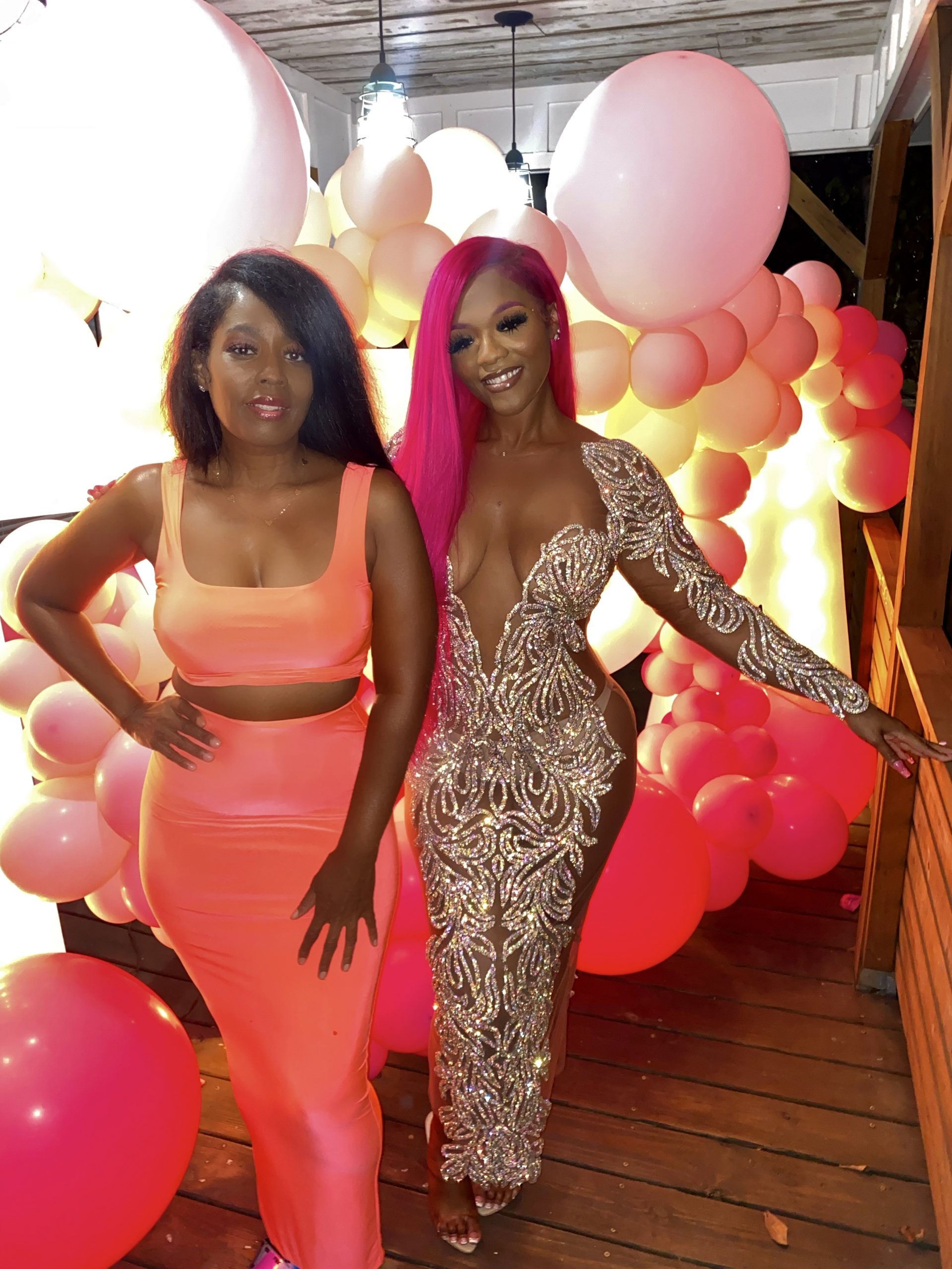 Tyra in the City's Pink Soiree
